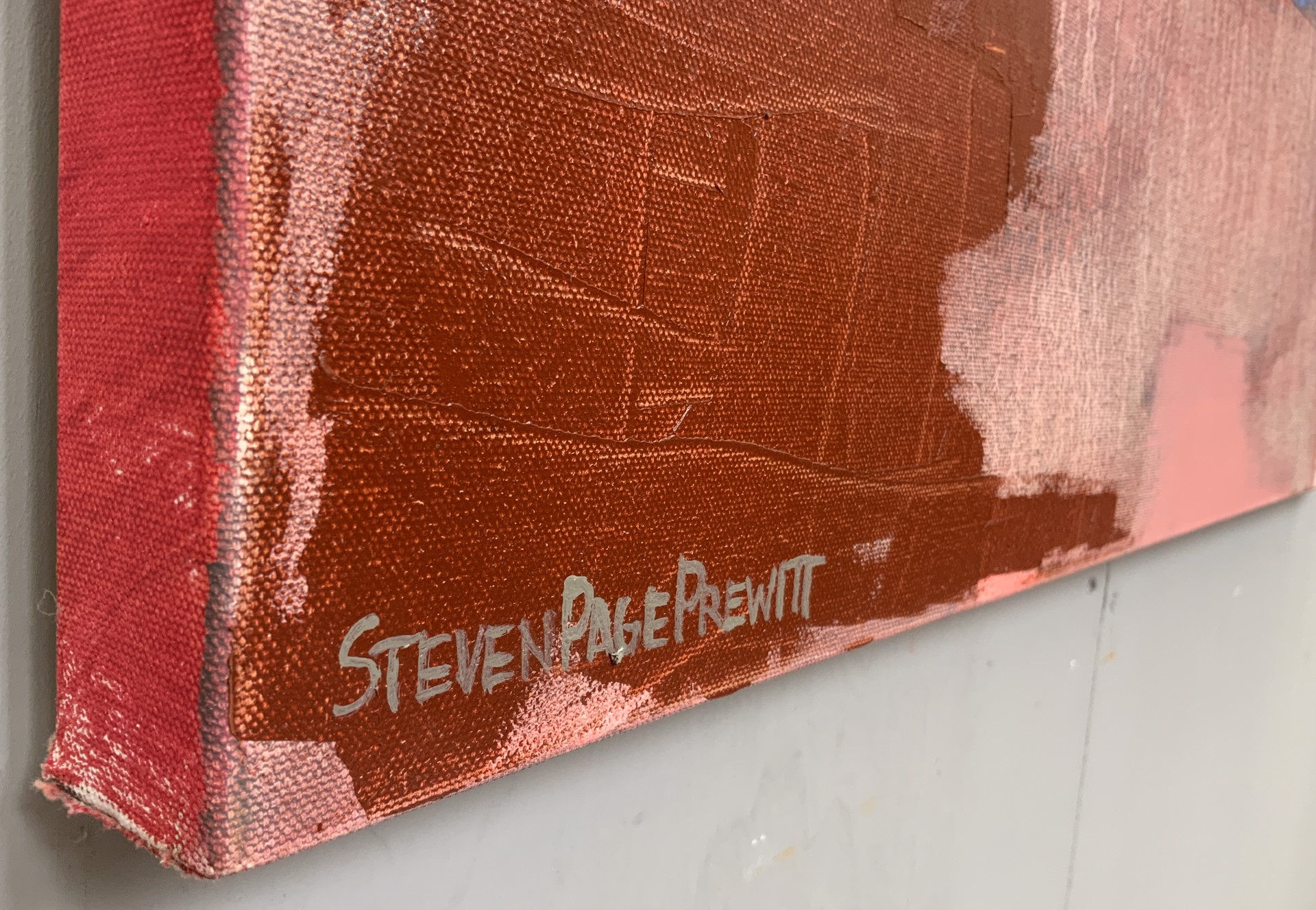 Abstract Landscape from the Air III by Steven Page Prewitt