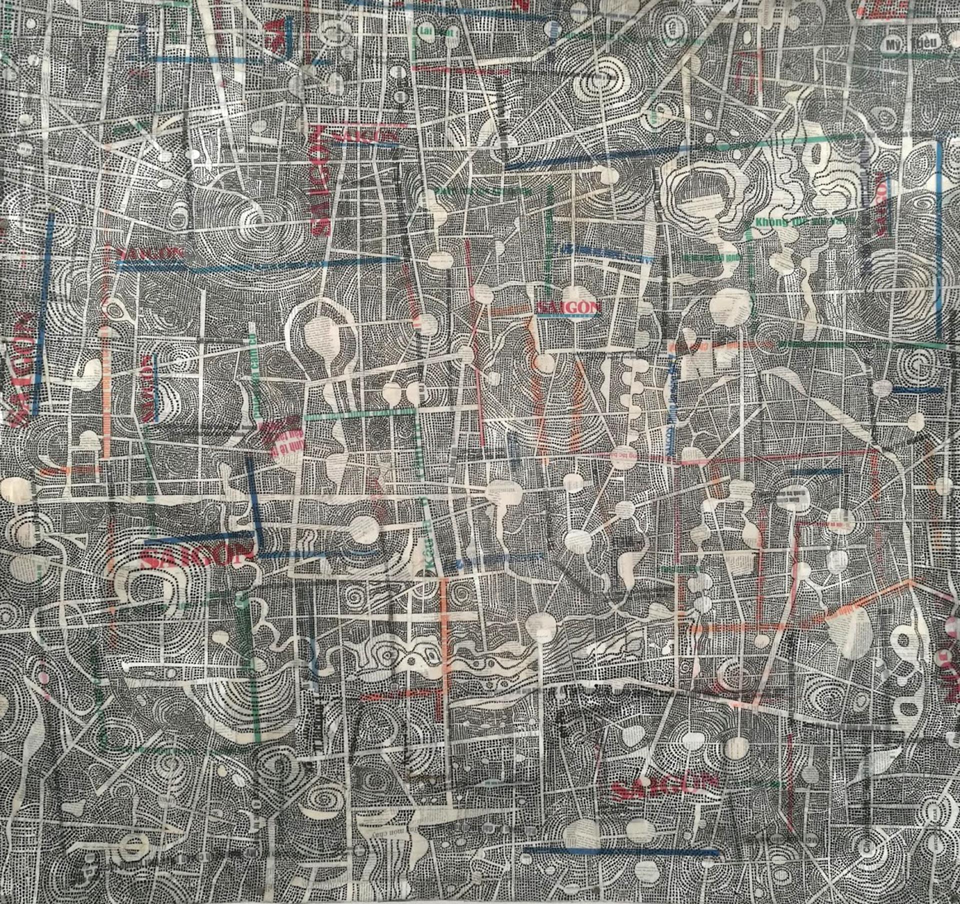 Land Dragon (The Map) by Chau Huynh