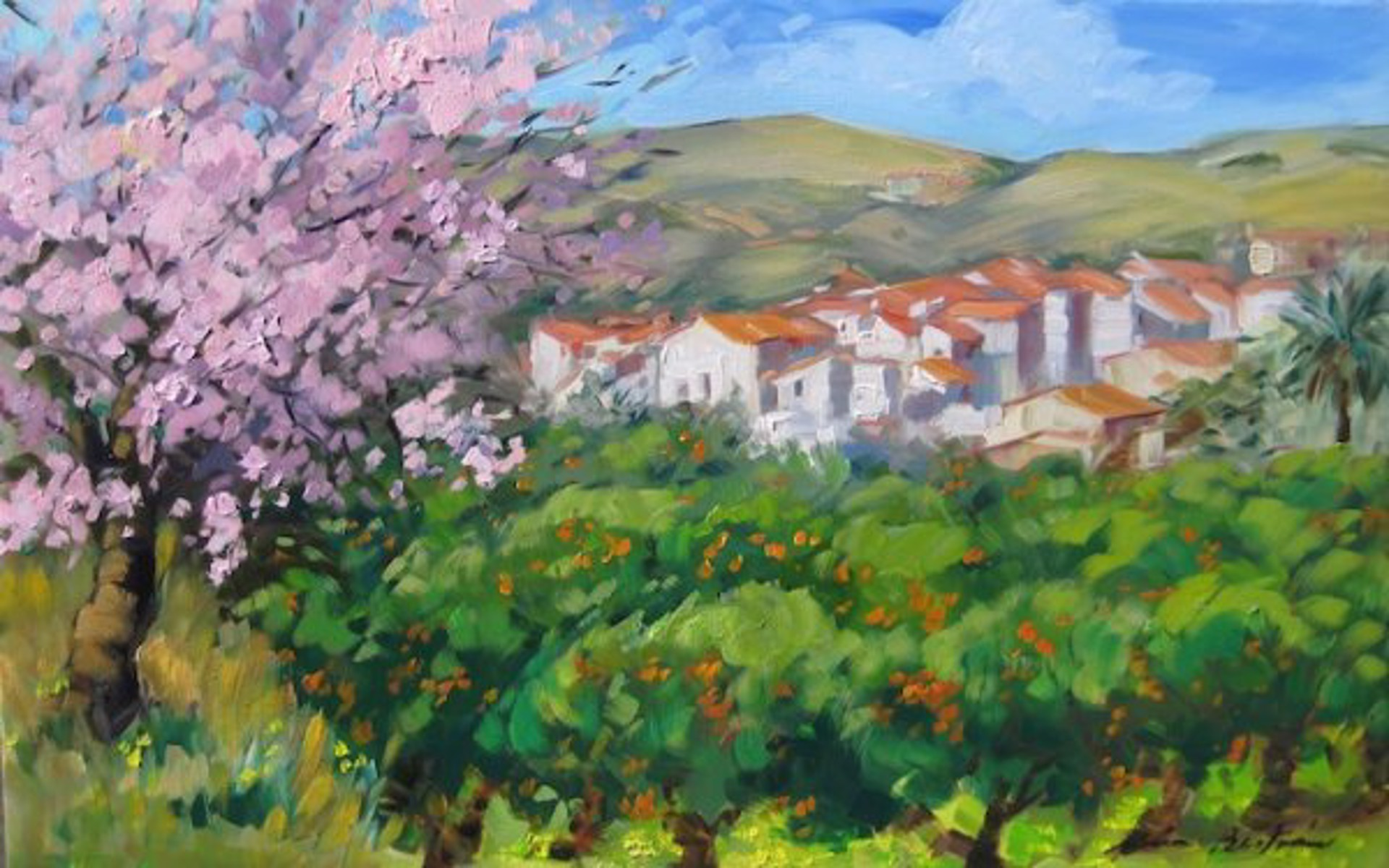 Herradura Fields by Maria Bertrán