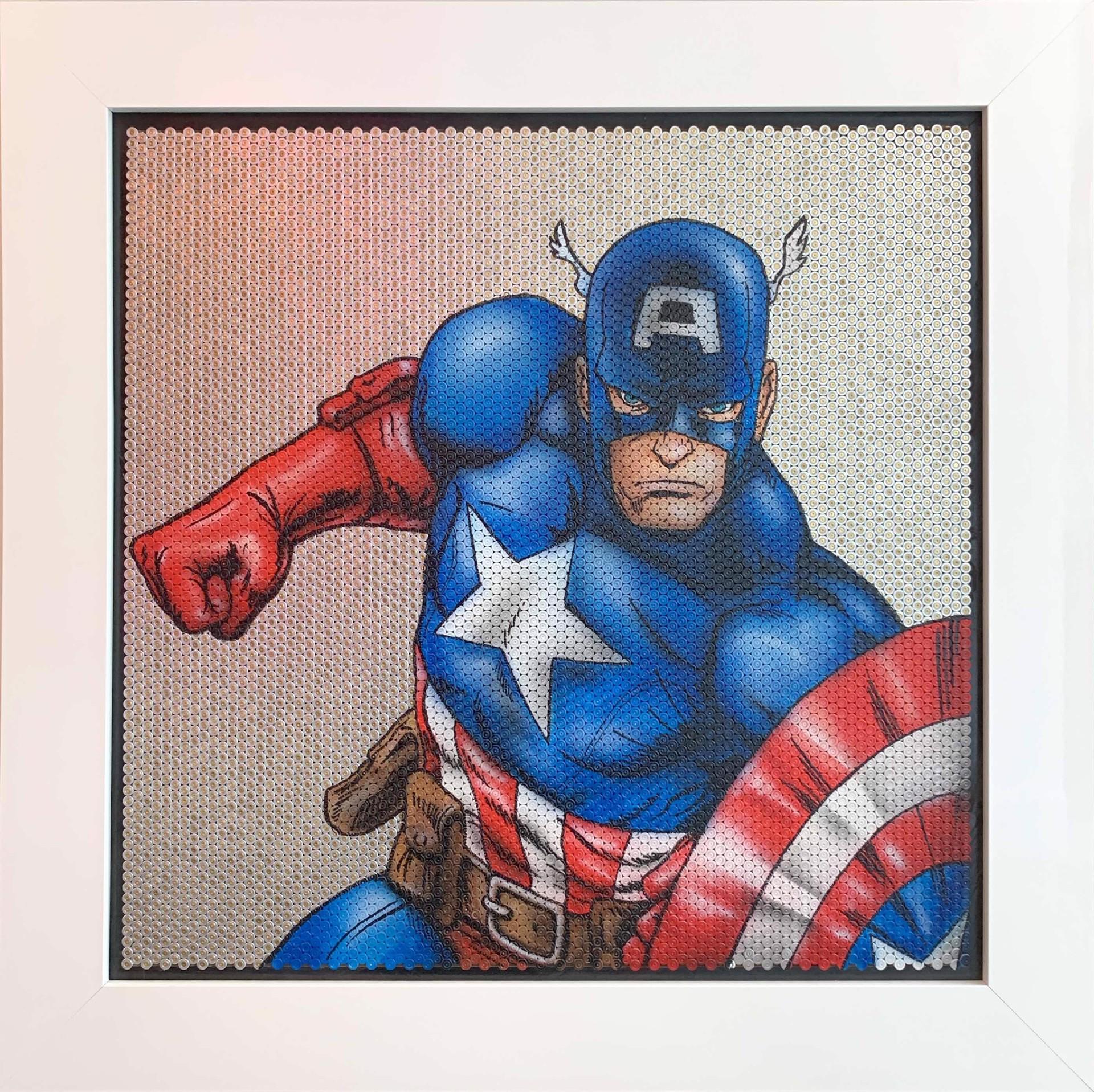 Bullet Series - Captain America by Efi Mashiah