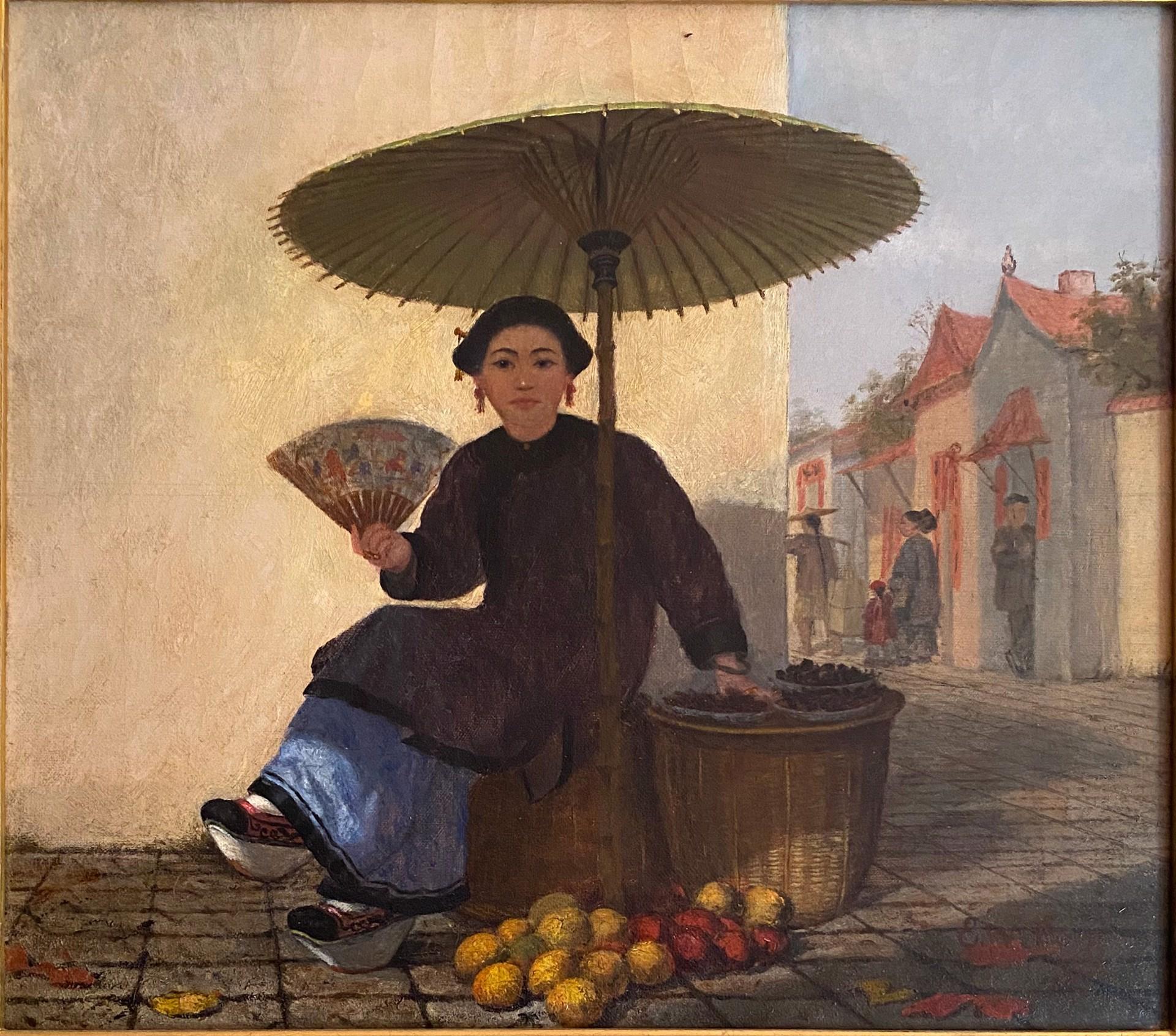 Fruit Seller by Enoch Wood Perry, Jr.