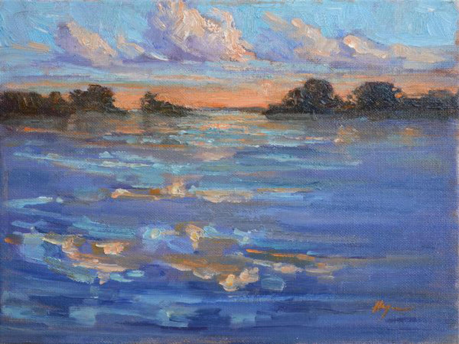 Distant Shores Calling by Karen Hewitt Hagan
