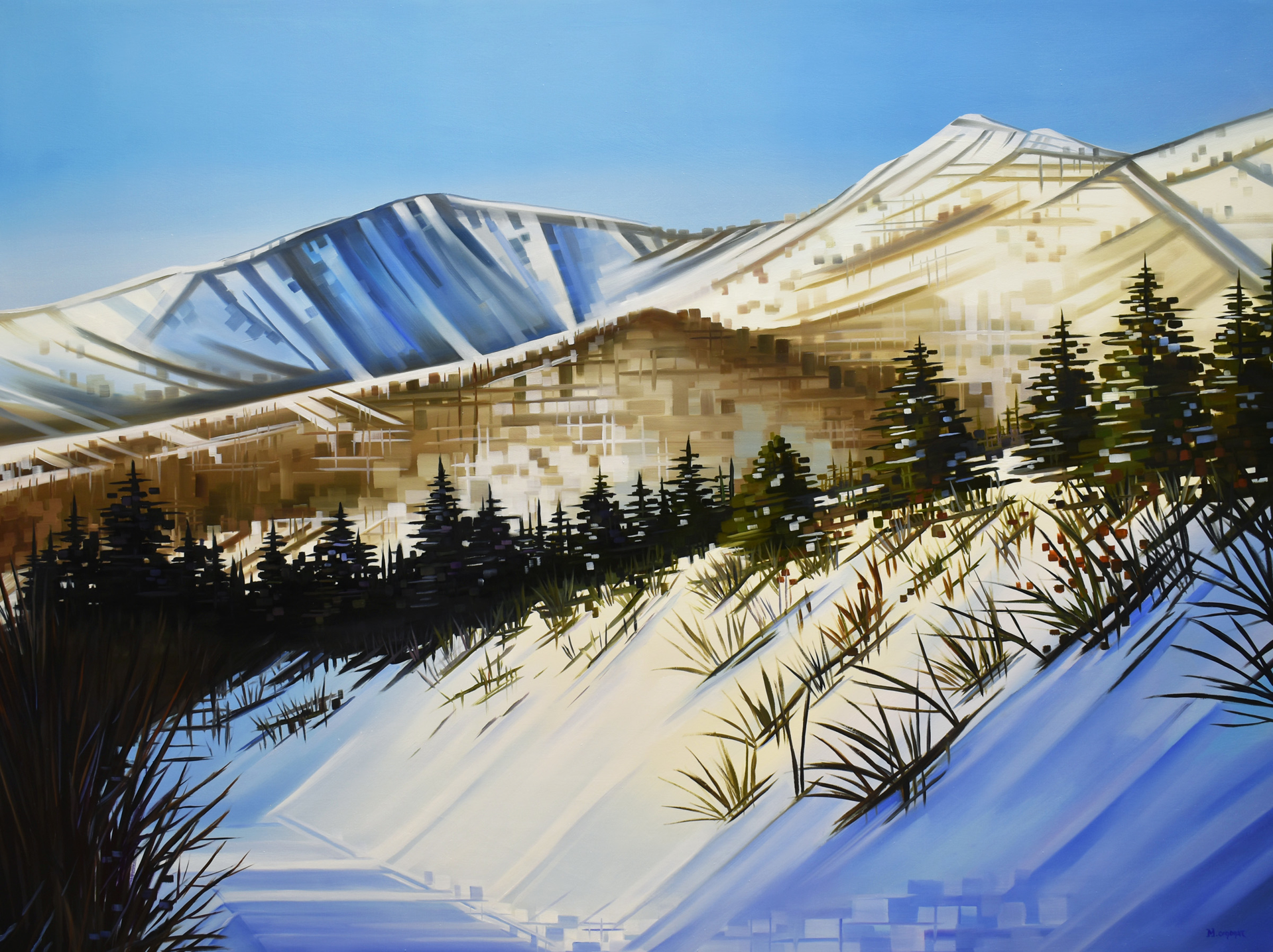 Sunny Side Slopes by Michelle Condrat