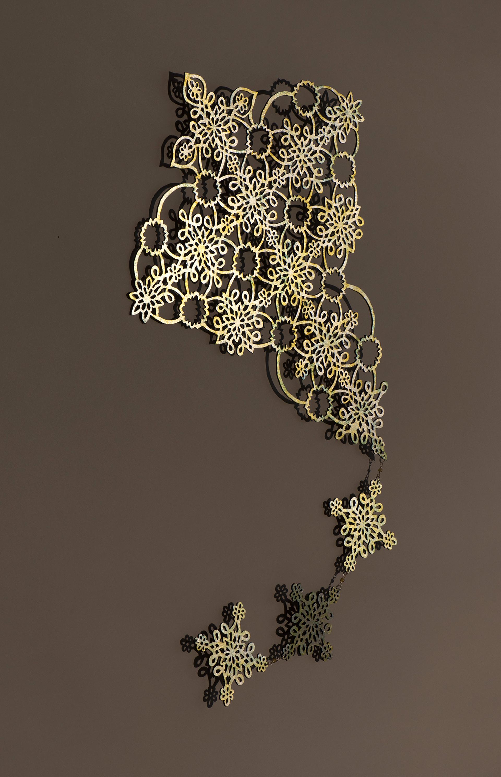 Kite (Silver) by June Sekiguchi