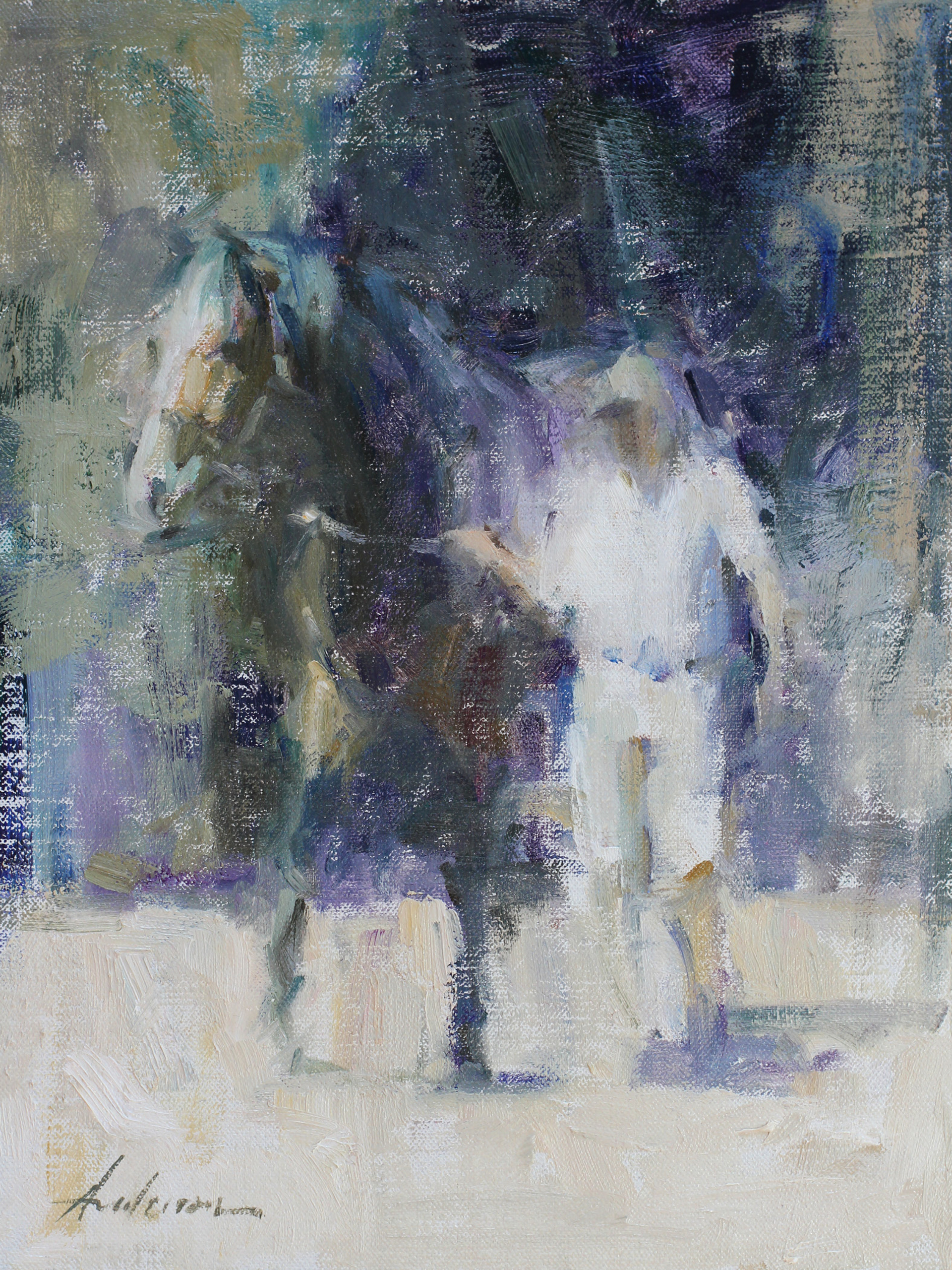 Before the Race by Carolyn Anderson