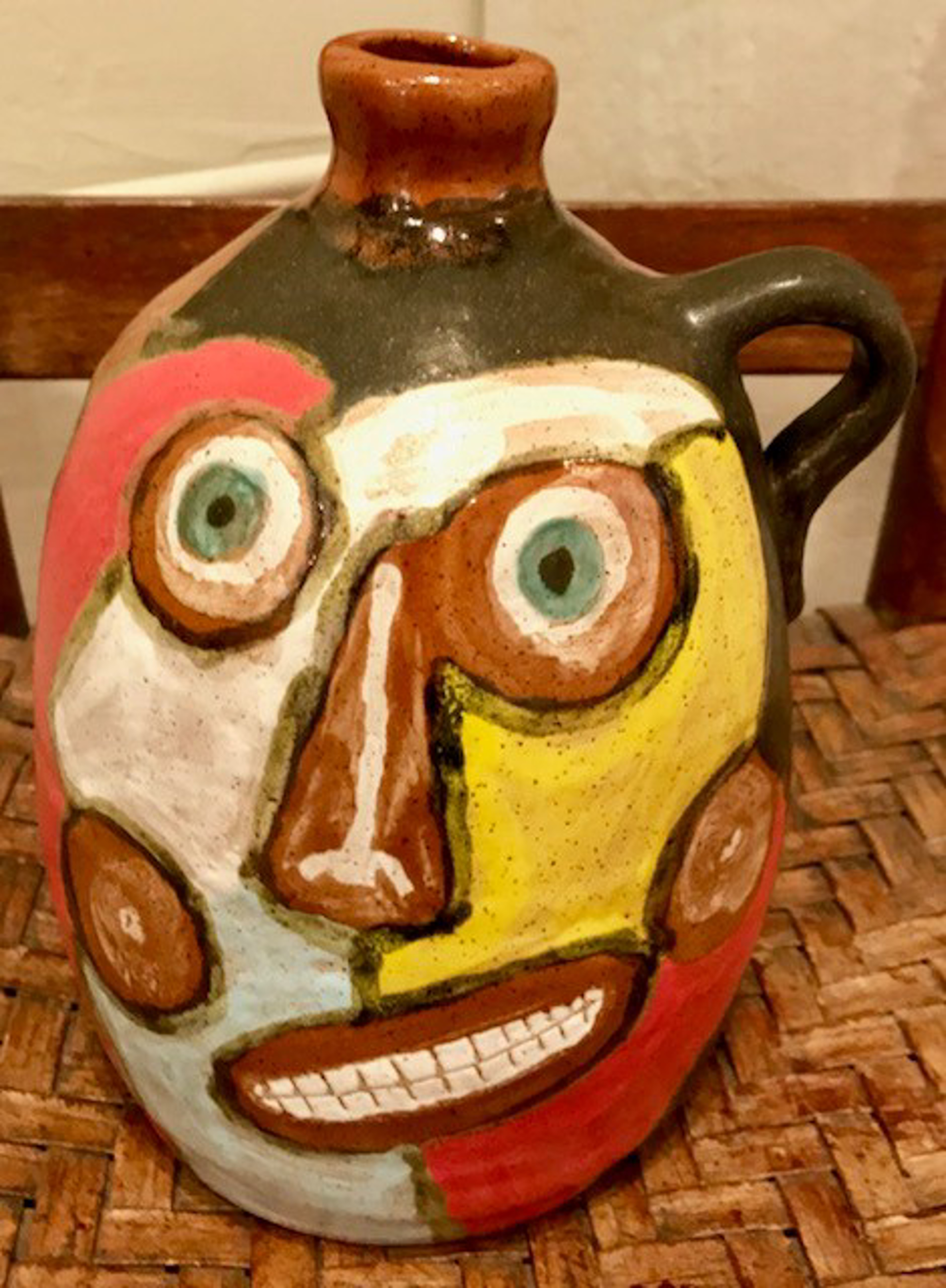 Face Jug by Tom & Judy Touchstone