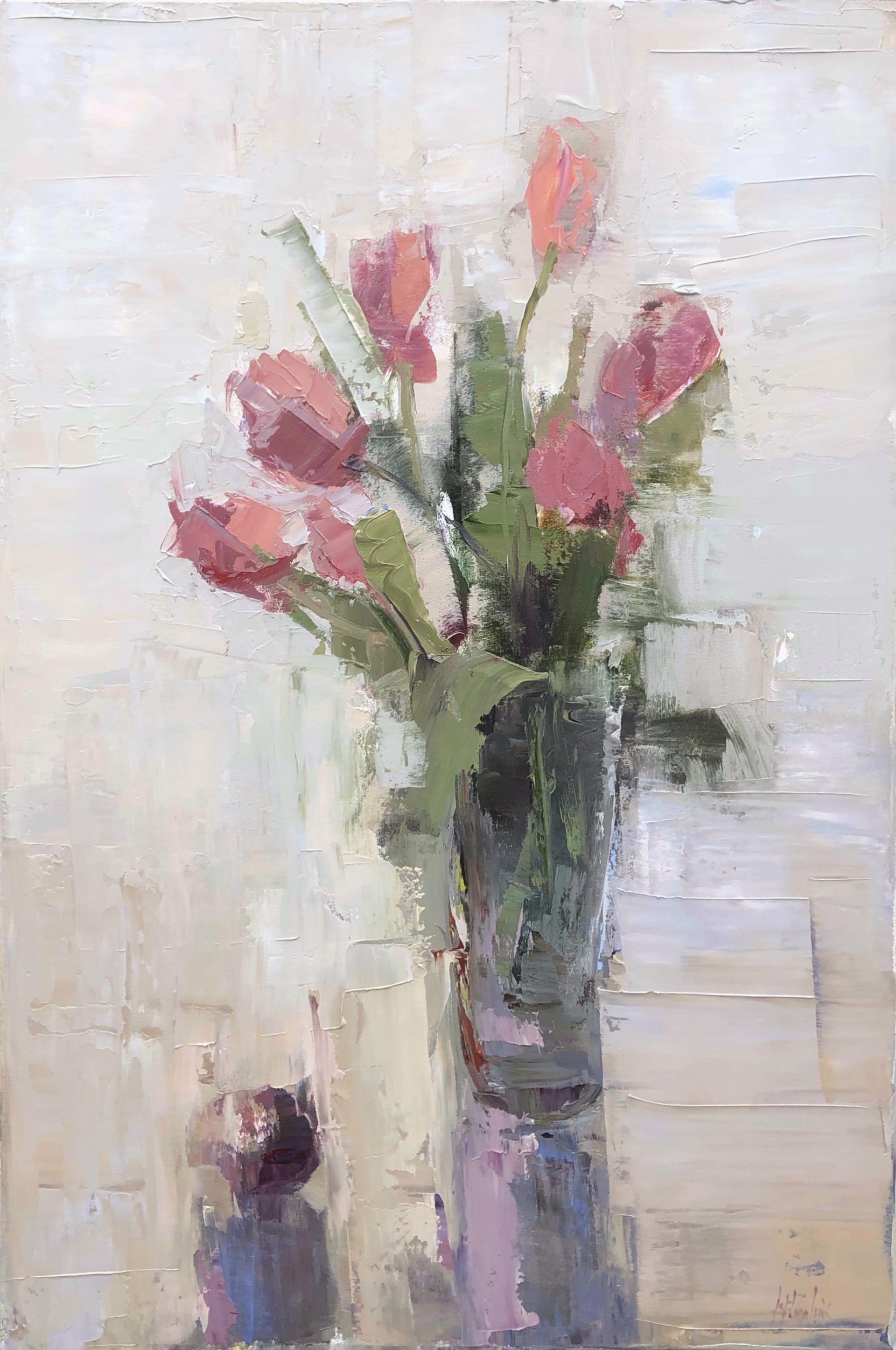 Fresh Tulips by Barbara Flowers