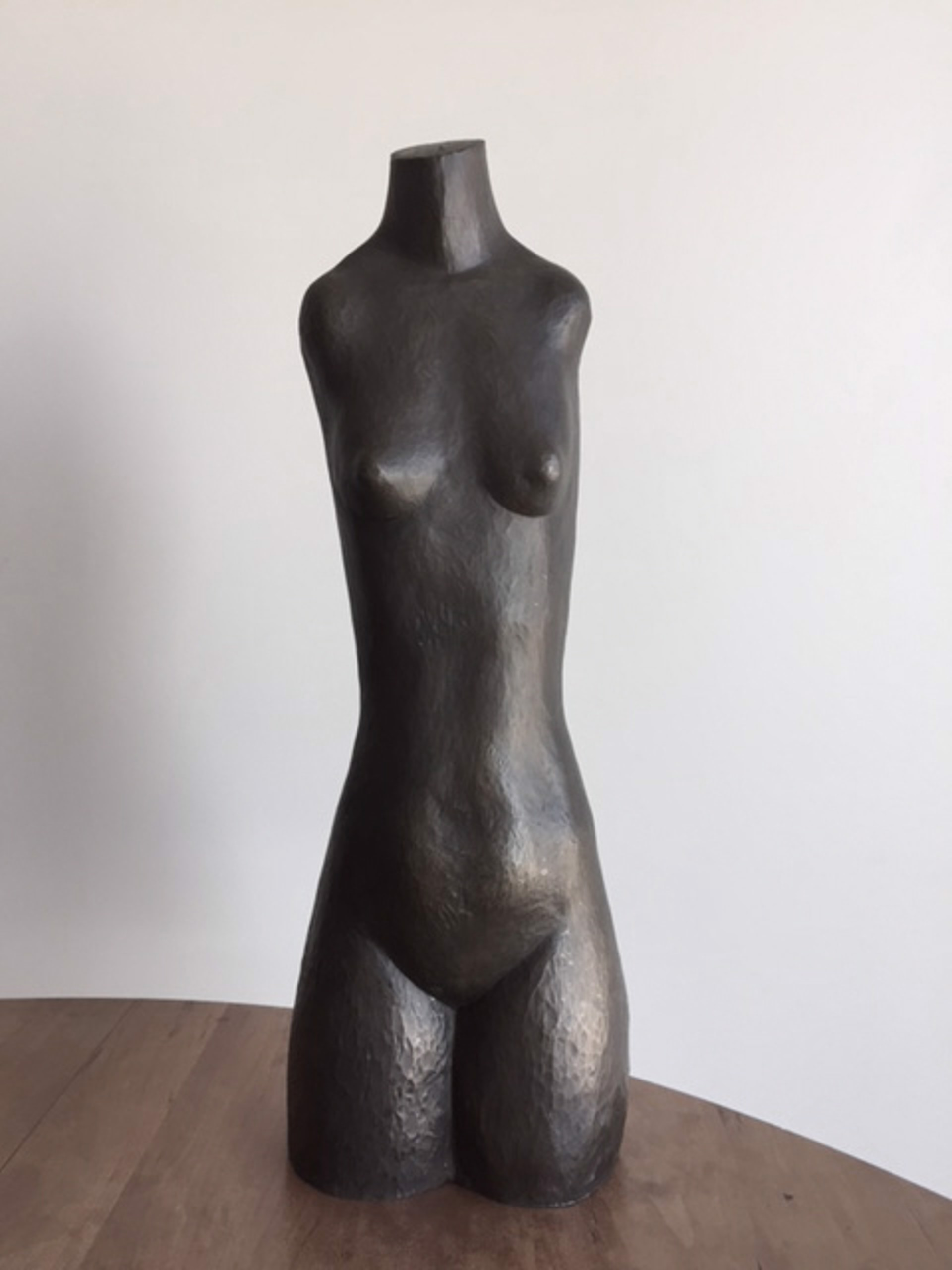 Untitled (female nude   torso) by Eli Levin