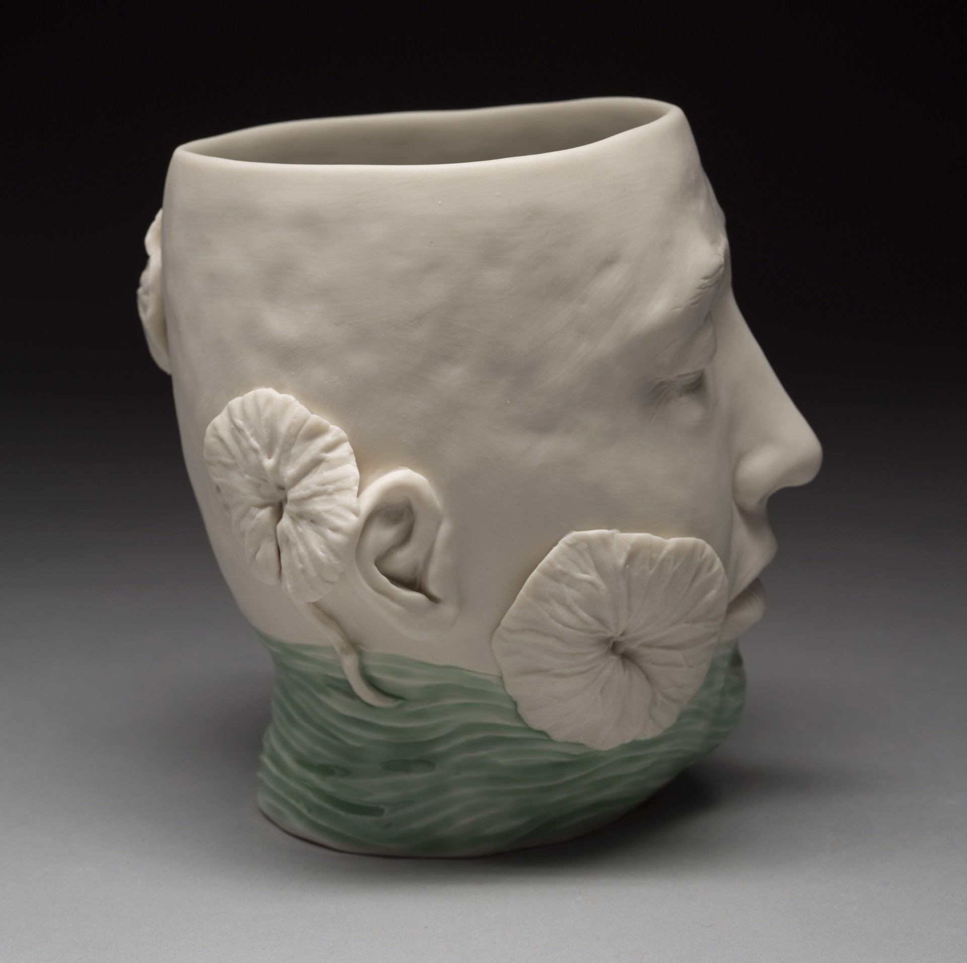 """Low Water level Vase with Plants"" by Adrian Arleo"