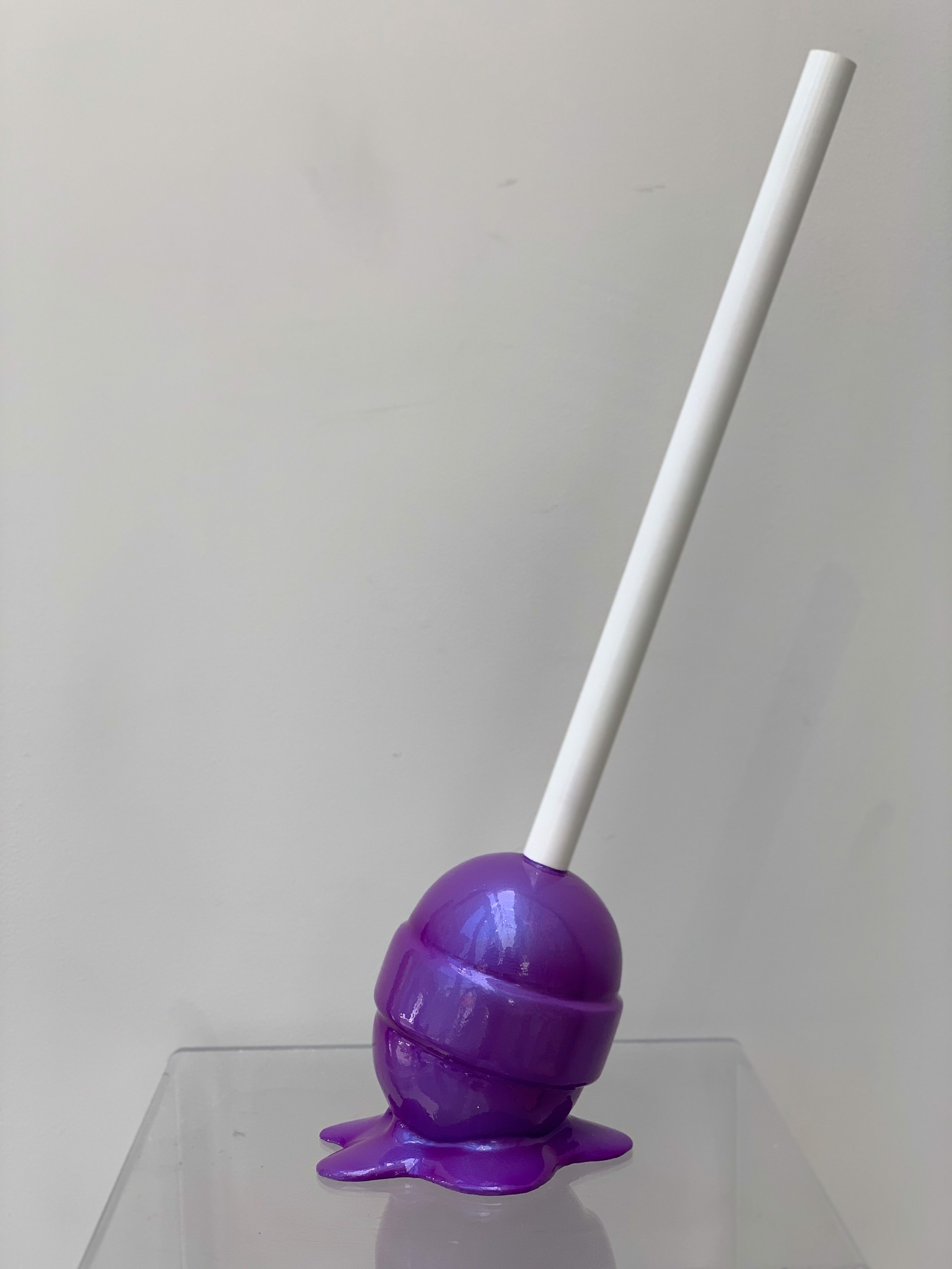 The sweet life Small Purple Lollipop by Elena Bulatova