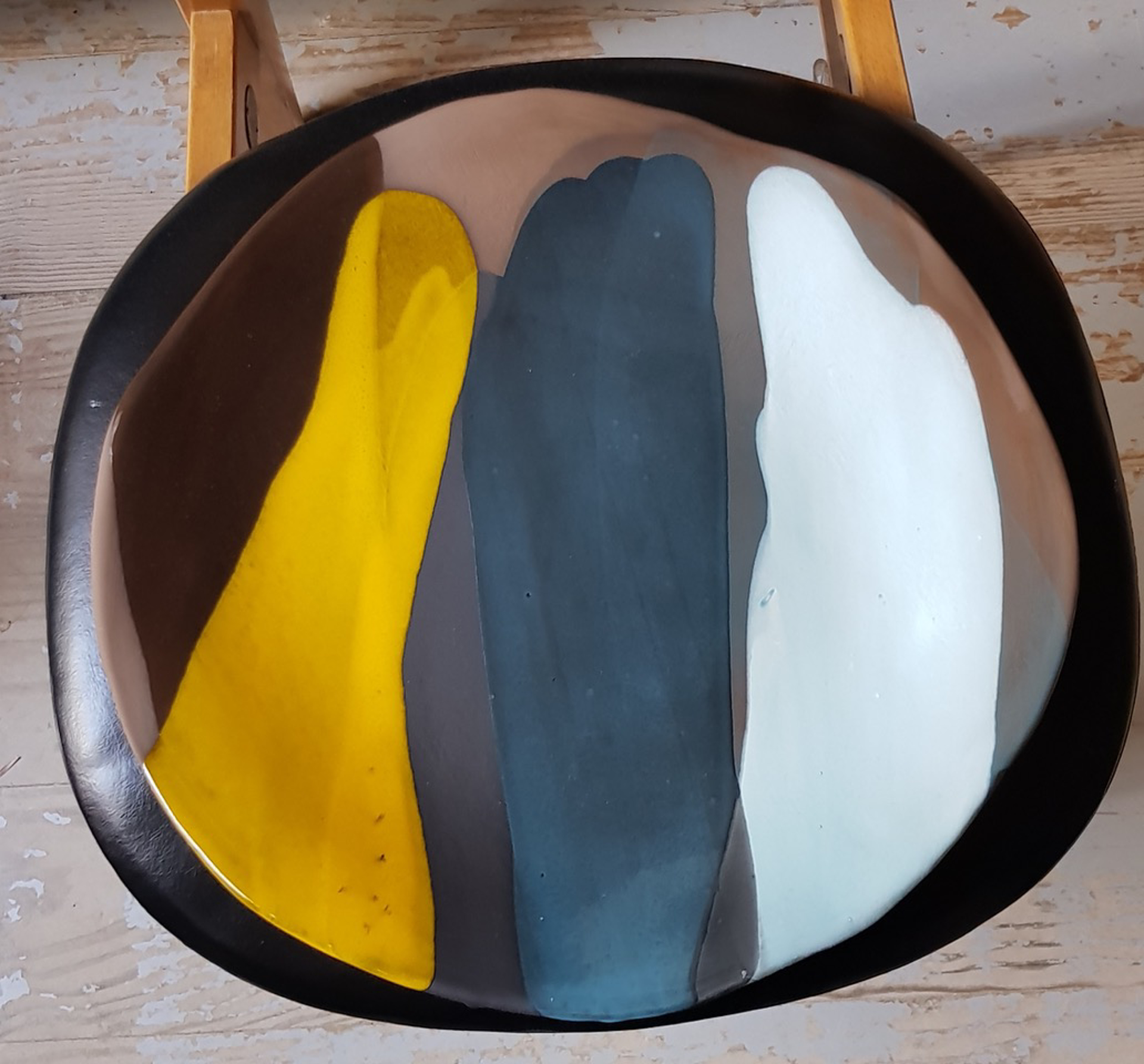 """""""Painter's Palette"""" Ceramic by Claire de Lavallee"""