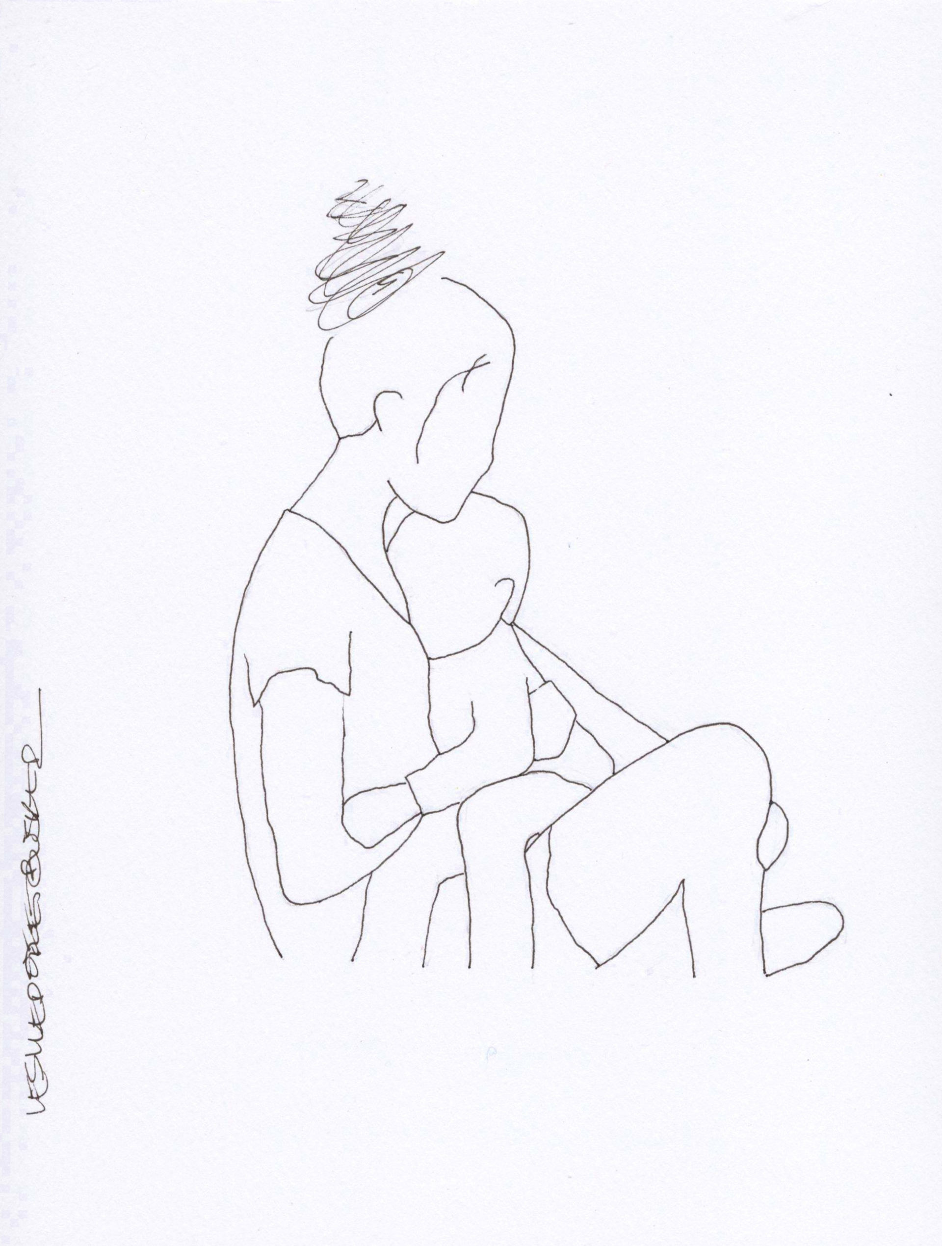 Mother and Child No. 3 by Leslie Poteet Busker