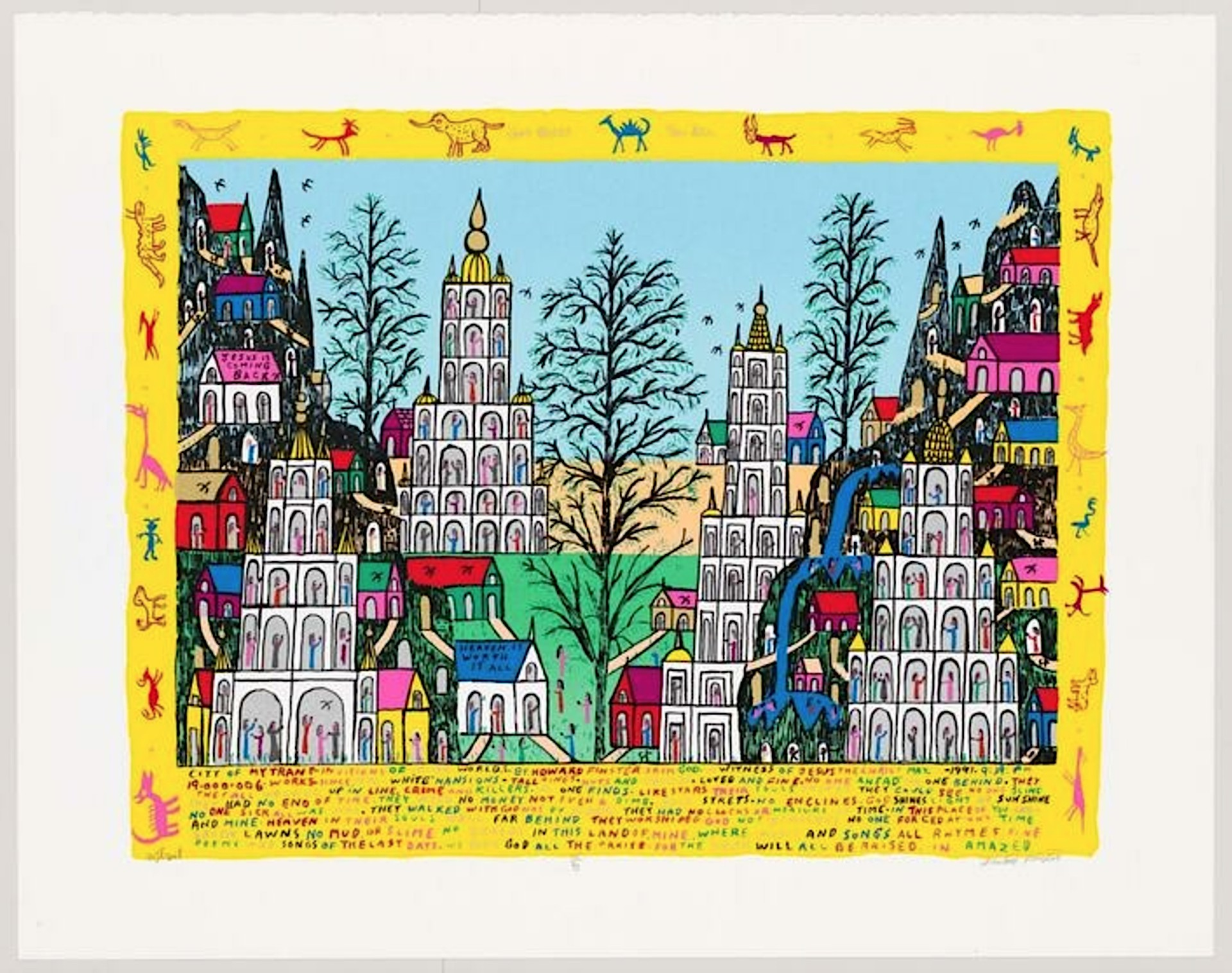 Mytrant by Howard Finster