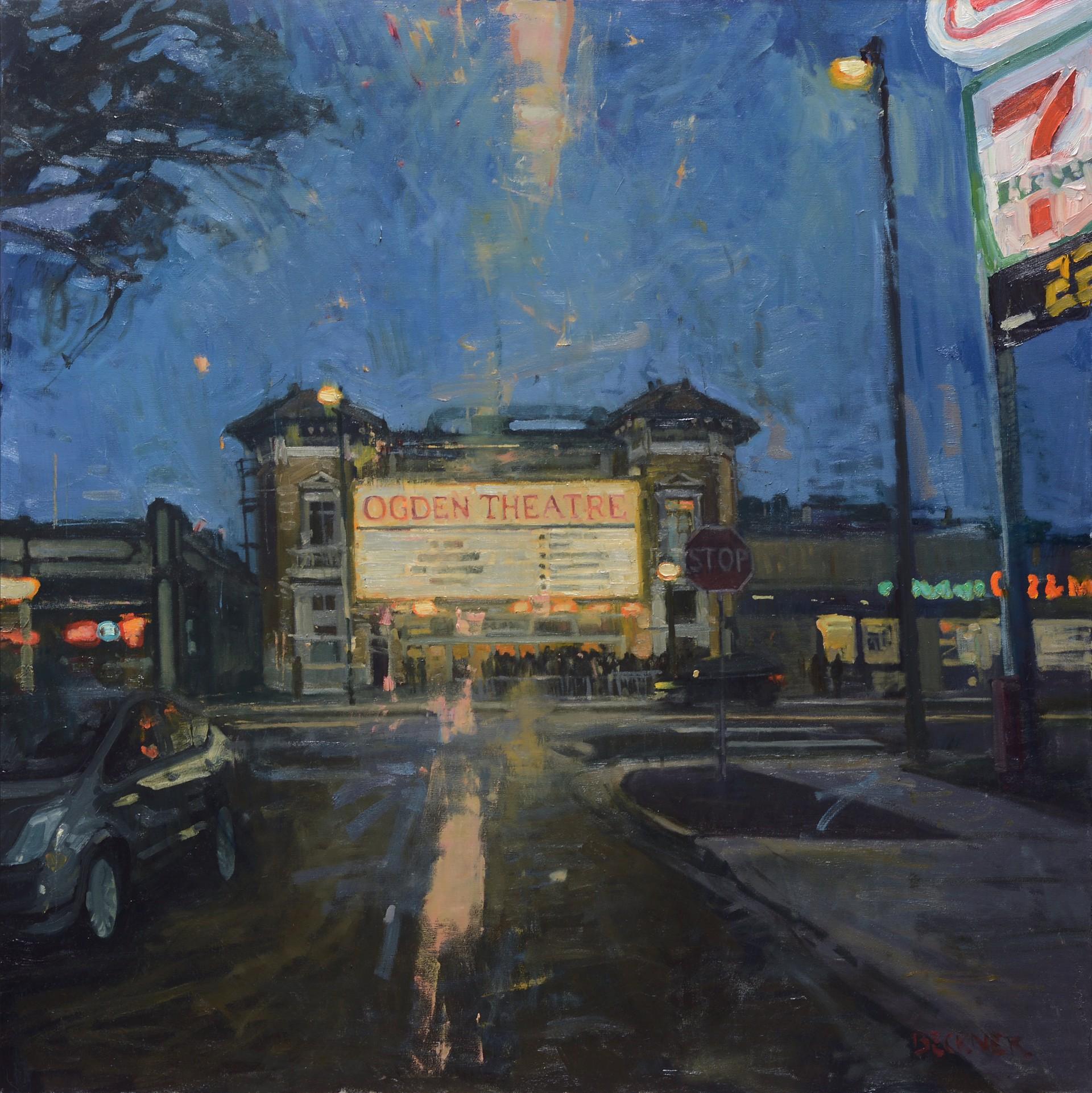 Ogden Theatre by Jim Beckner