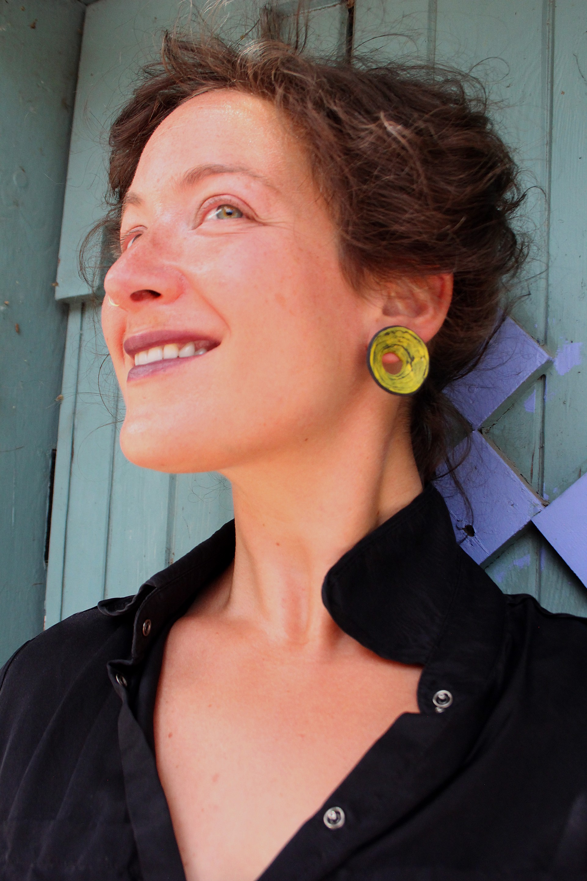 Disc Earrings by Lindsay Locatelli