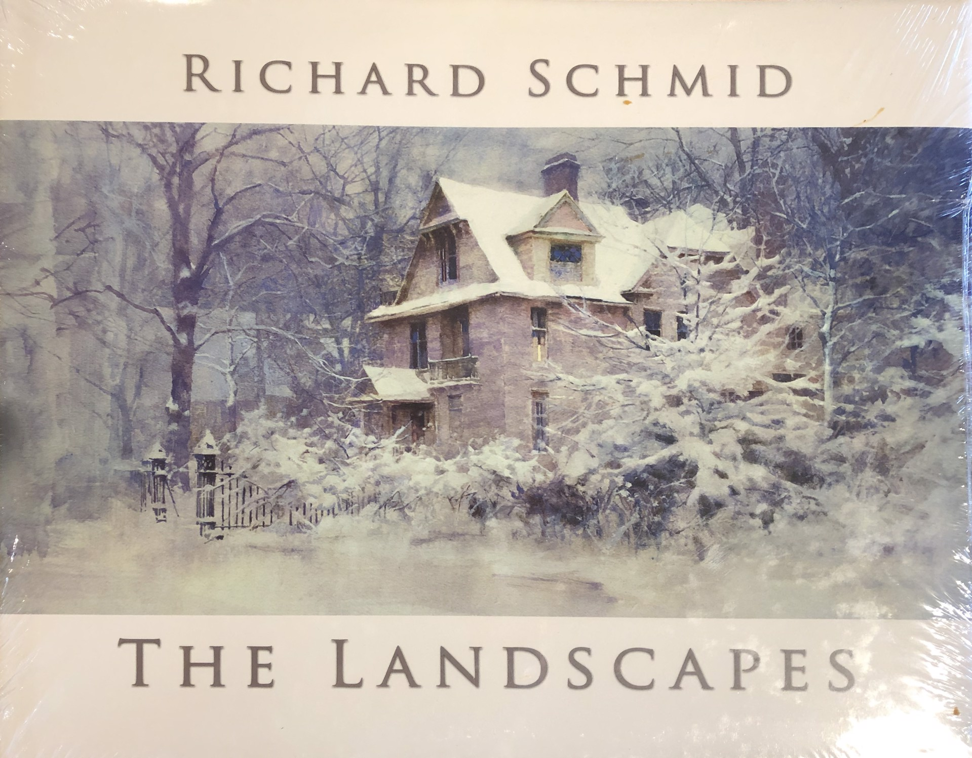 The Landscapes (Hardcover) by Richard Schmid