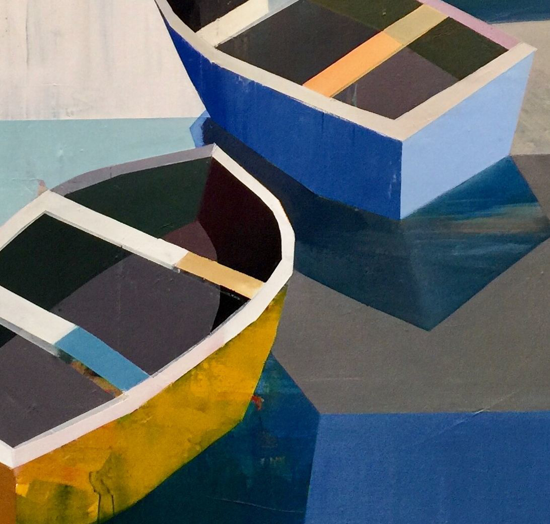 Boats in the Shallow Water #24 by Siddharth Parasnis
