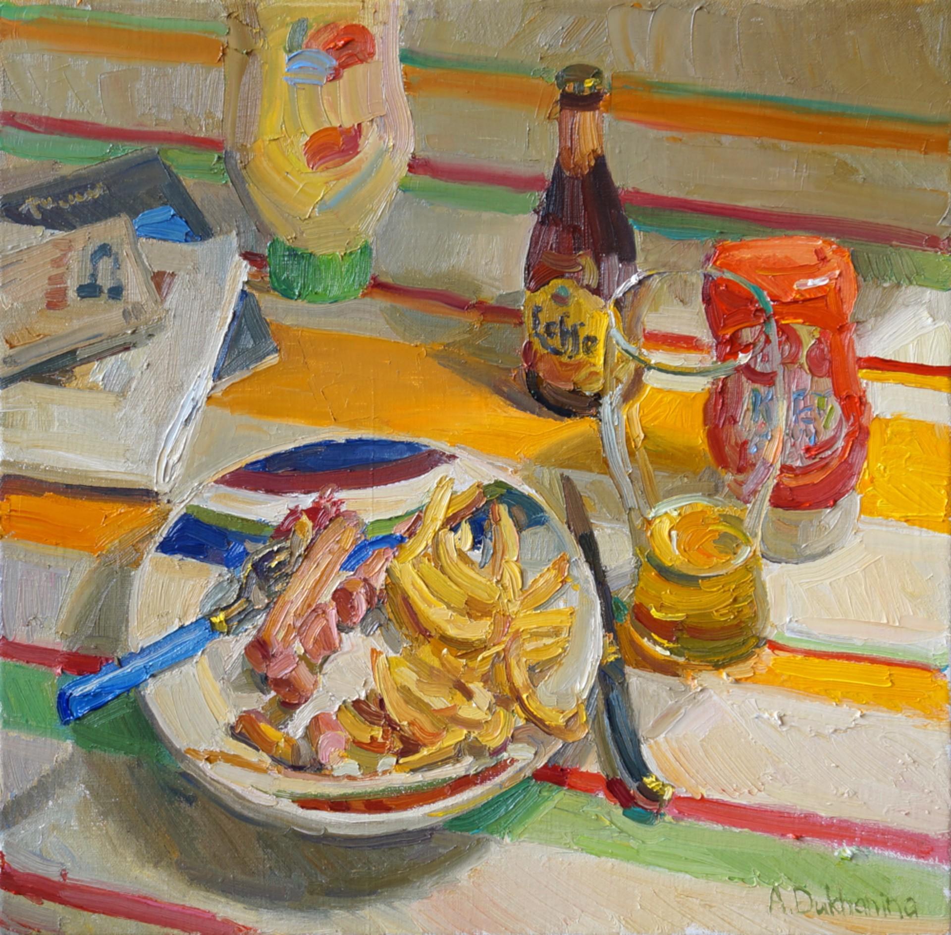 Dinner by Anastasia Dukhanina