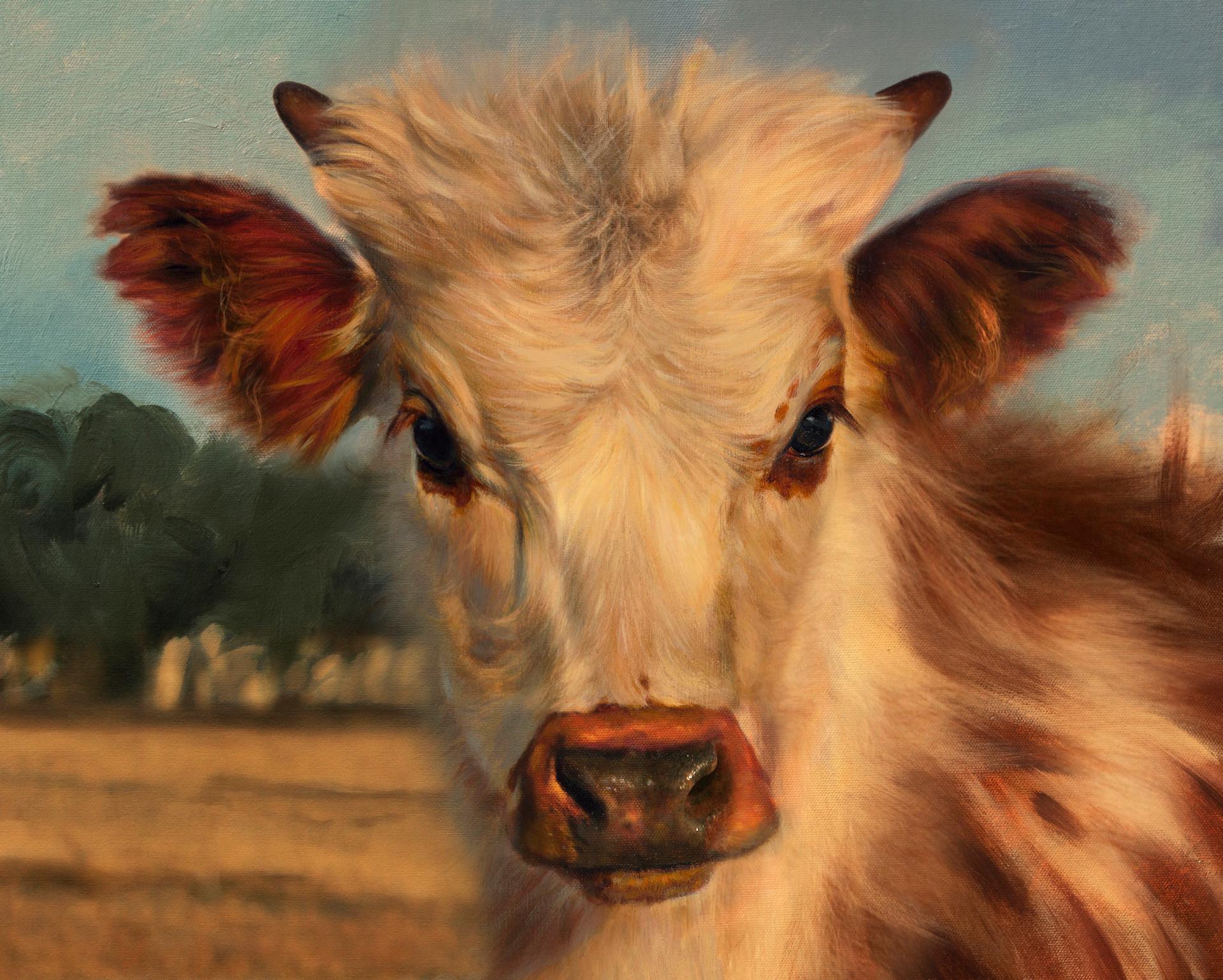 Longhorn Butler Calf by Teresa Elliott