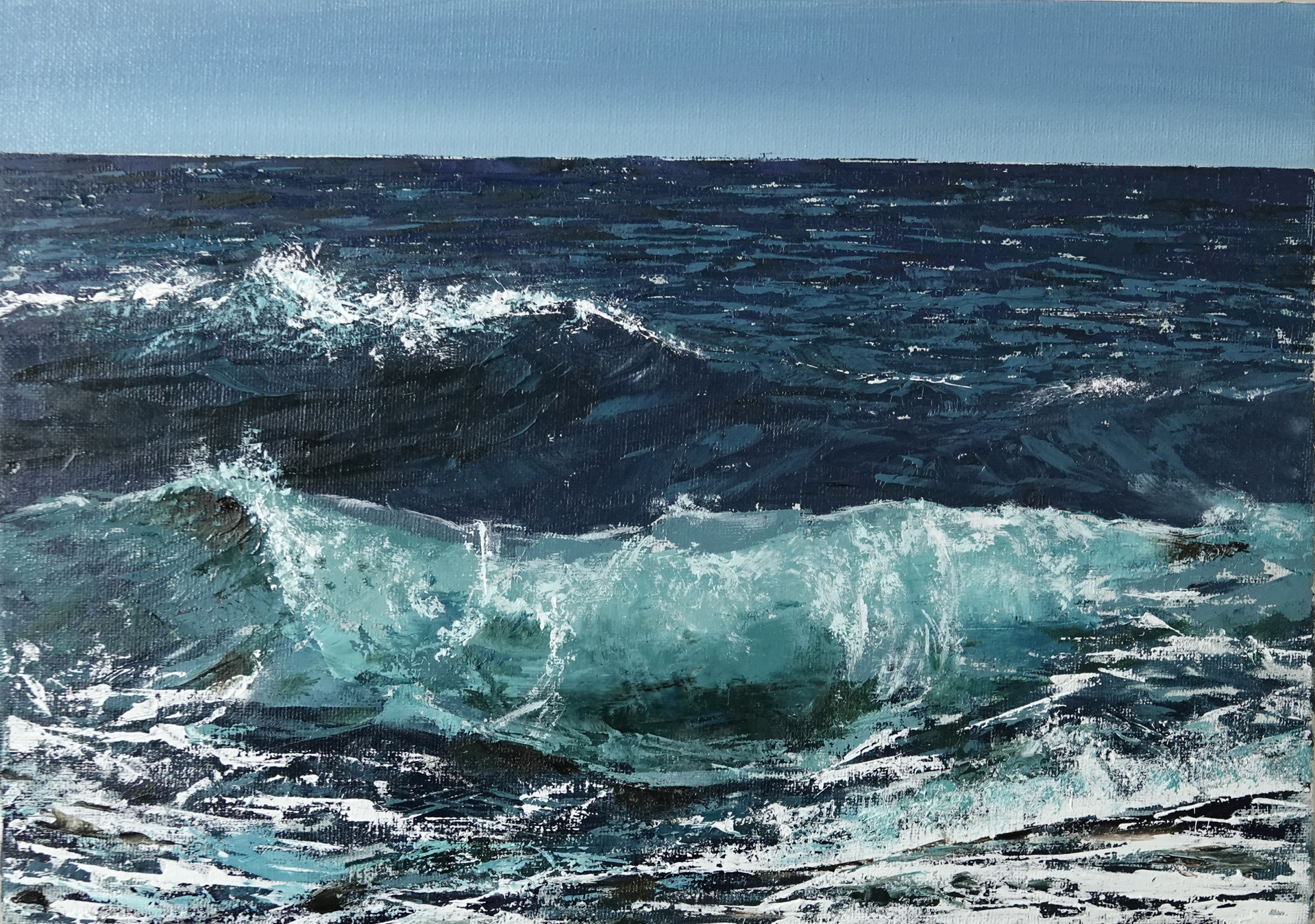 Fresh Waves  by Silvia Belviso