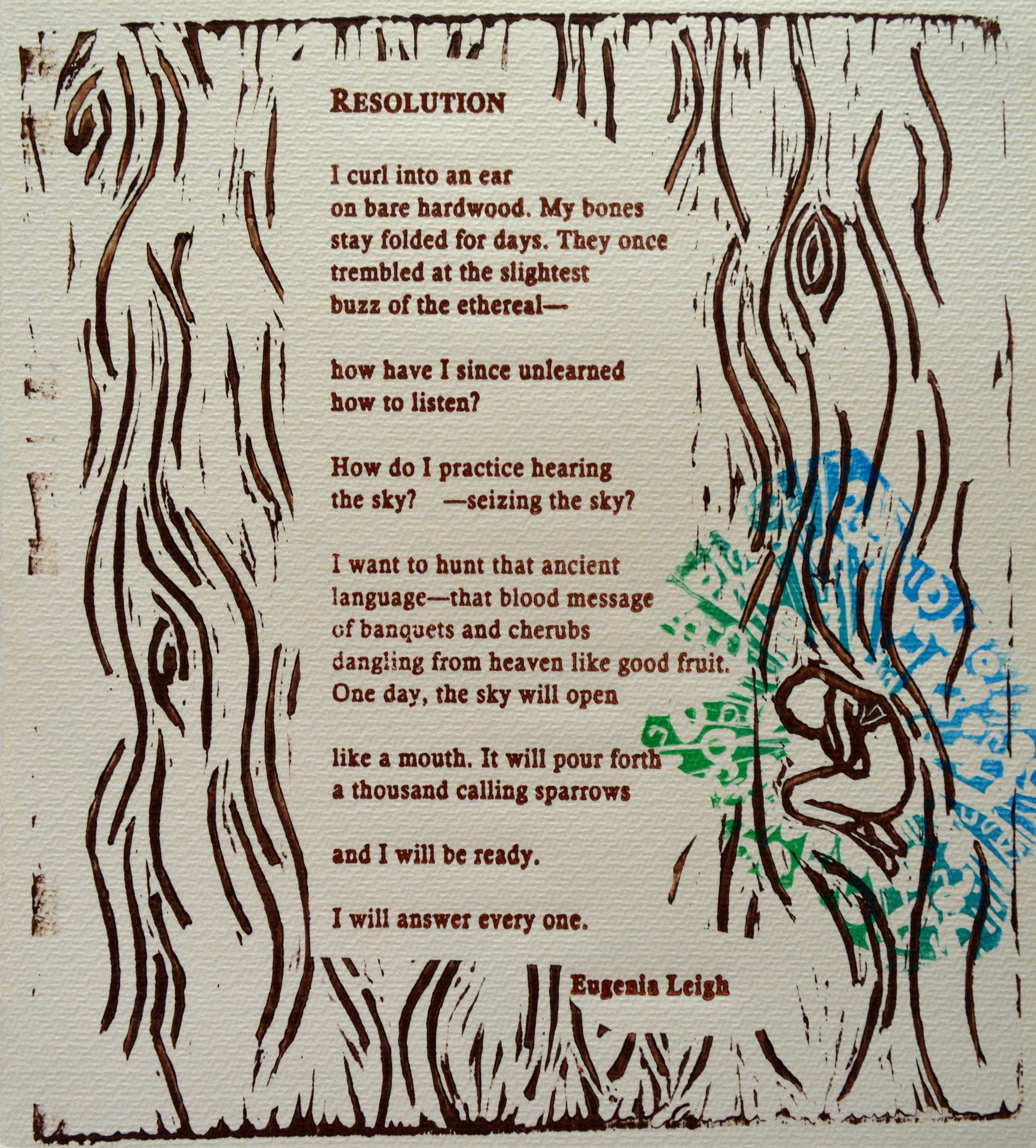 Resolution by Allison Hull