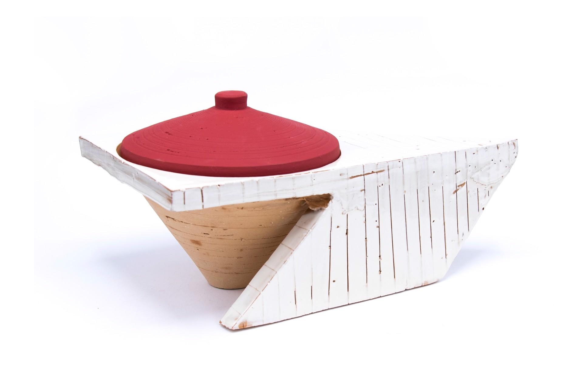 Lidded Jar (1) by Zak Helenske