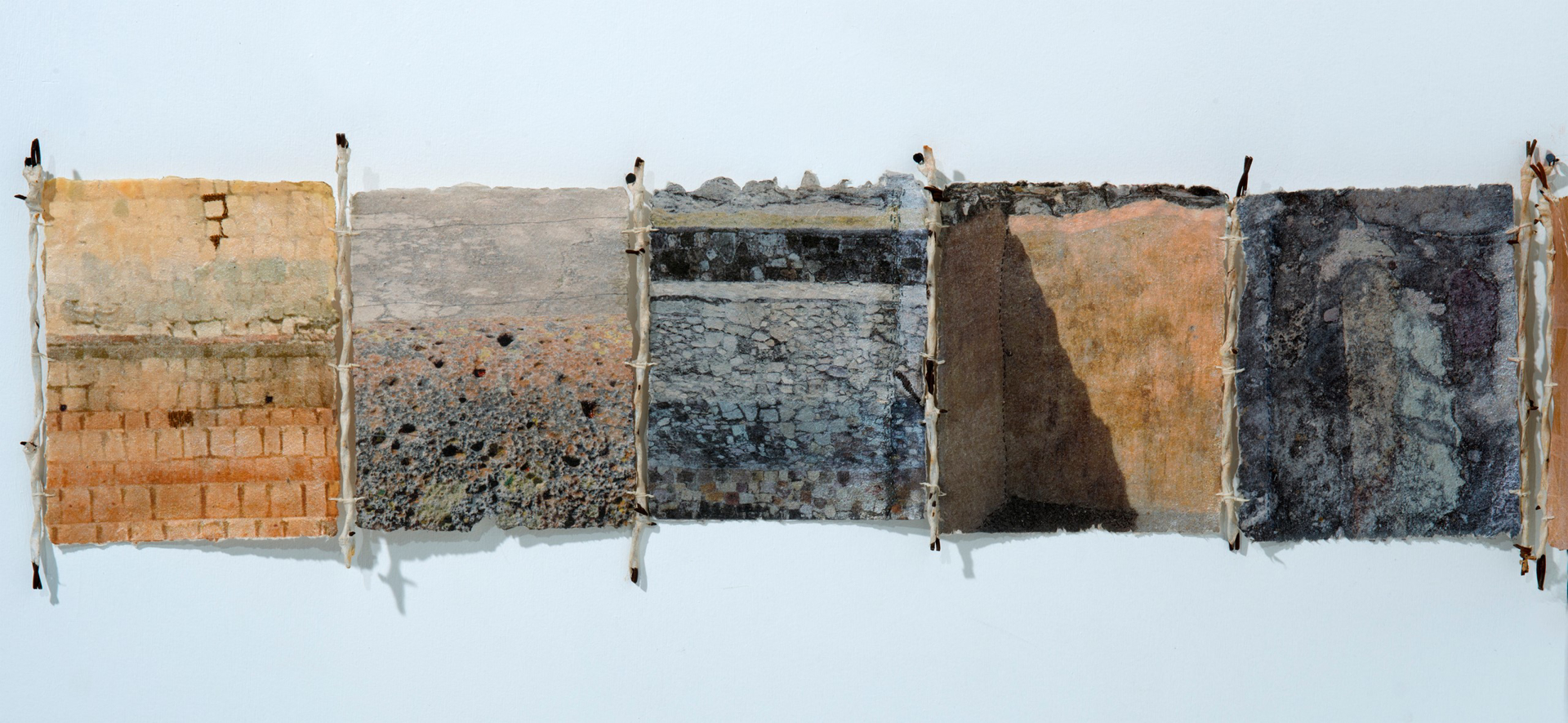 WALL CONSTRUCTIONS by Teddy Milder