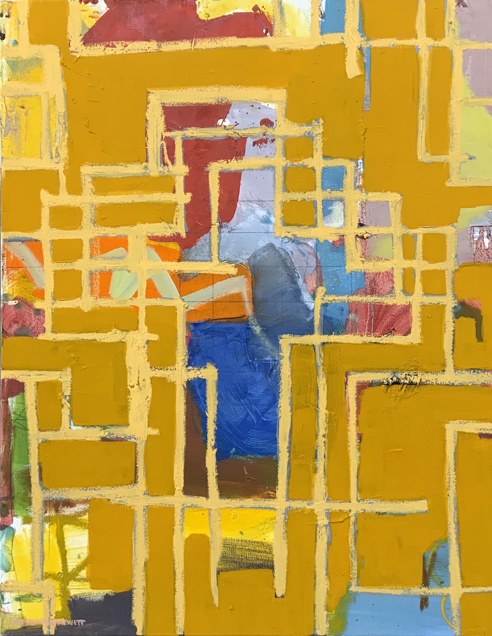 3 Crosses w/in Naples Yellow by Steven Page Prewitt