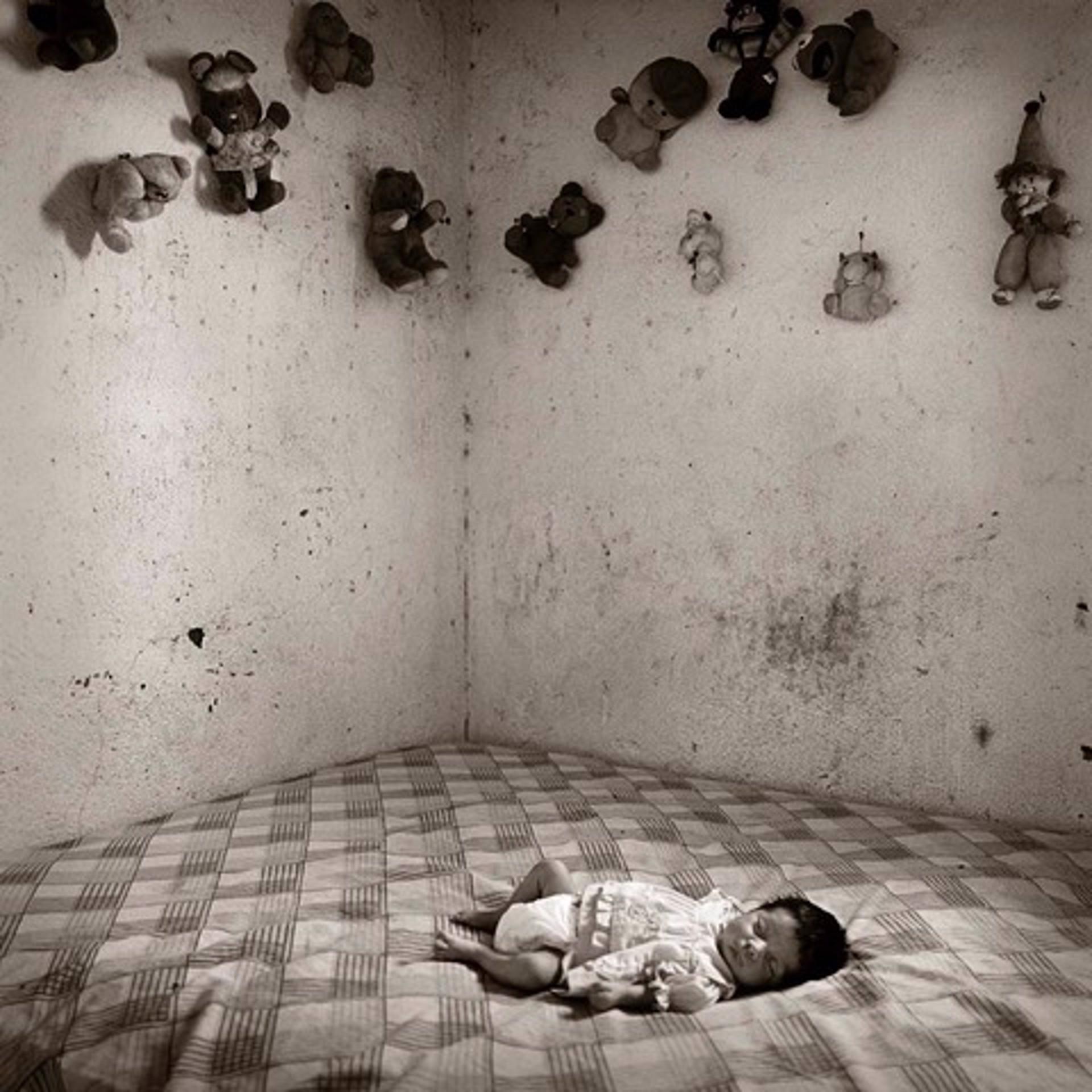Border Baby, Boquillas, Mexico by James H. Evans