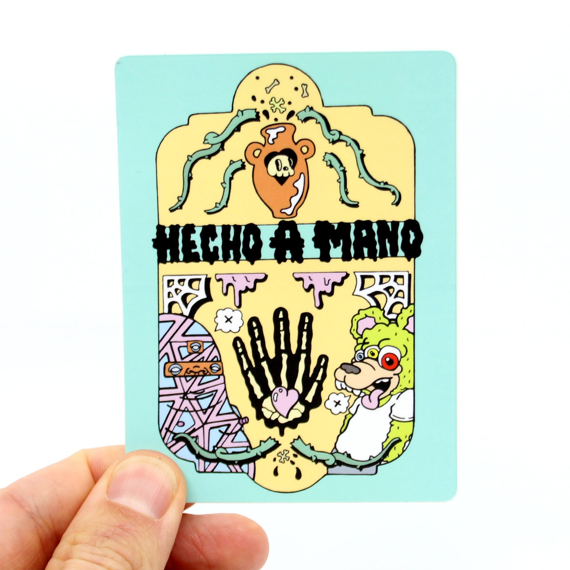 Logo Sticker (Funko Roasto Remix) by Hecho a Mano