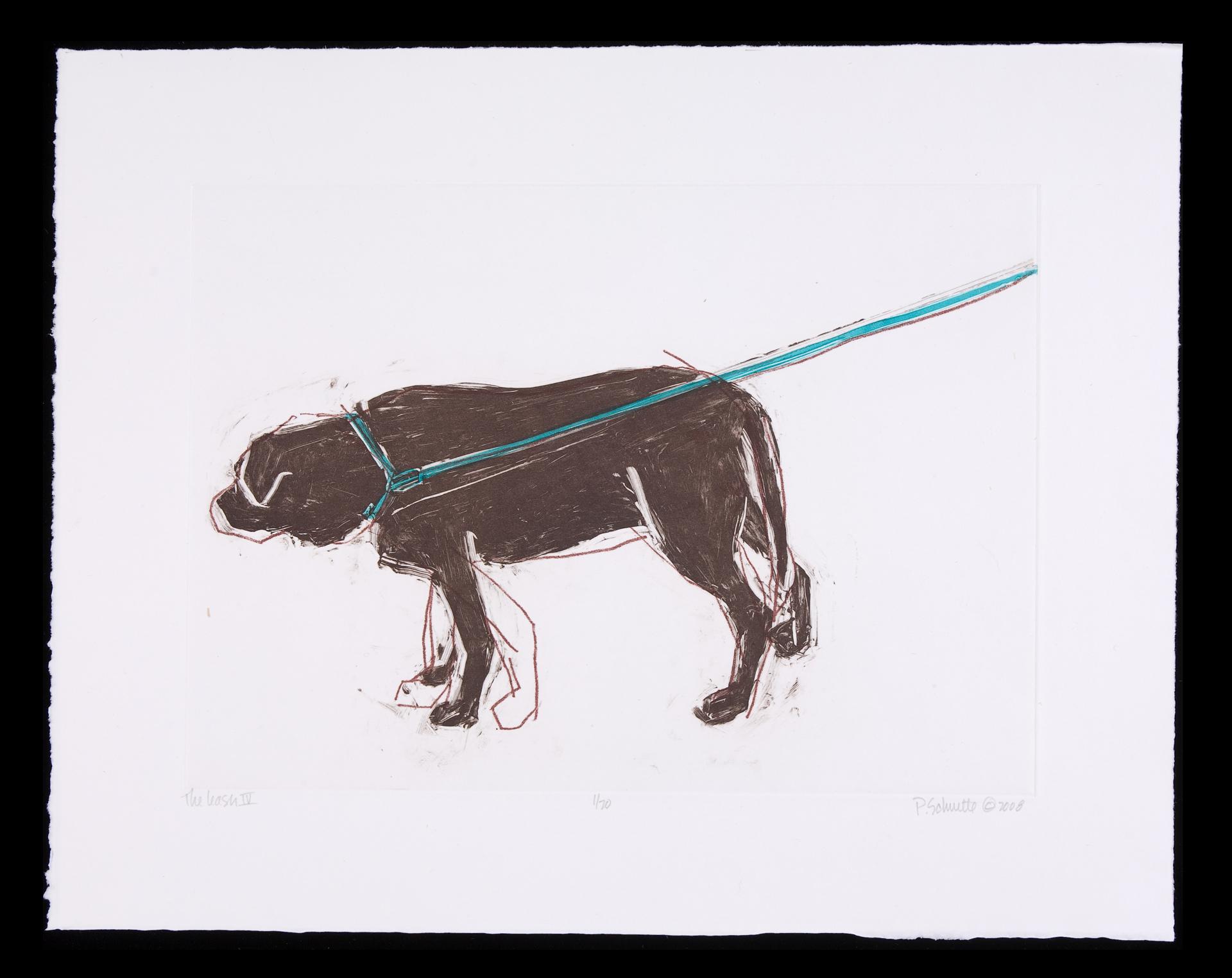 The Leash IV by Paula Schuette Kraemer