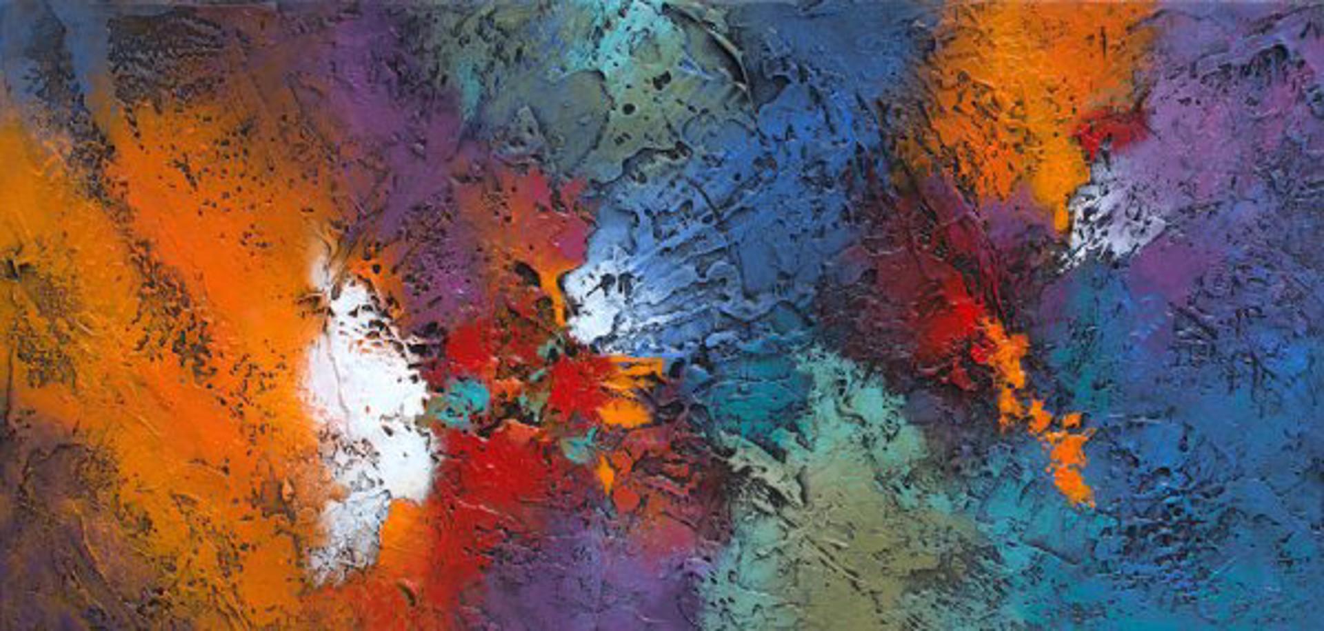 Color Collision by Nancy Eckels
