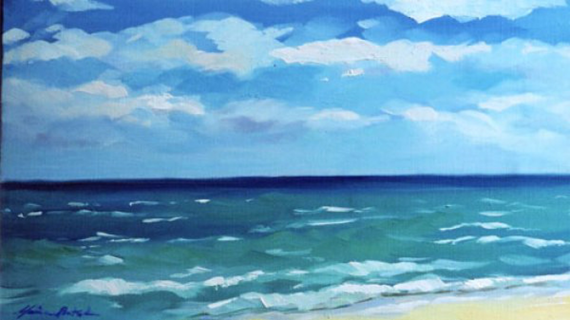 Bertran: Beach Day by Maria Bertrán