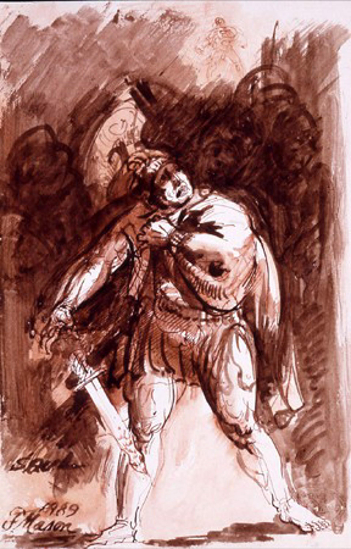 Saul by Frank Mason (1921 - 2009)