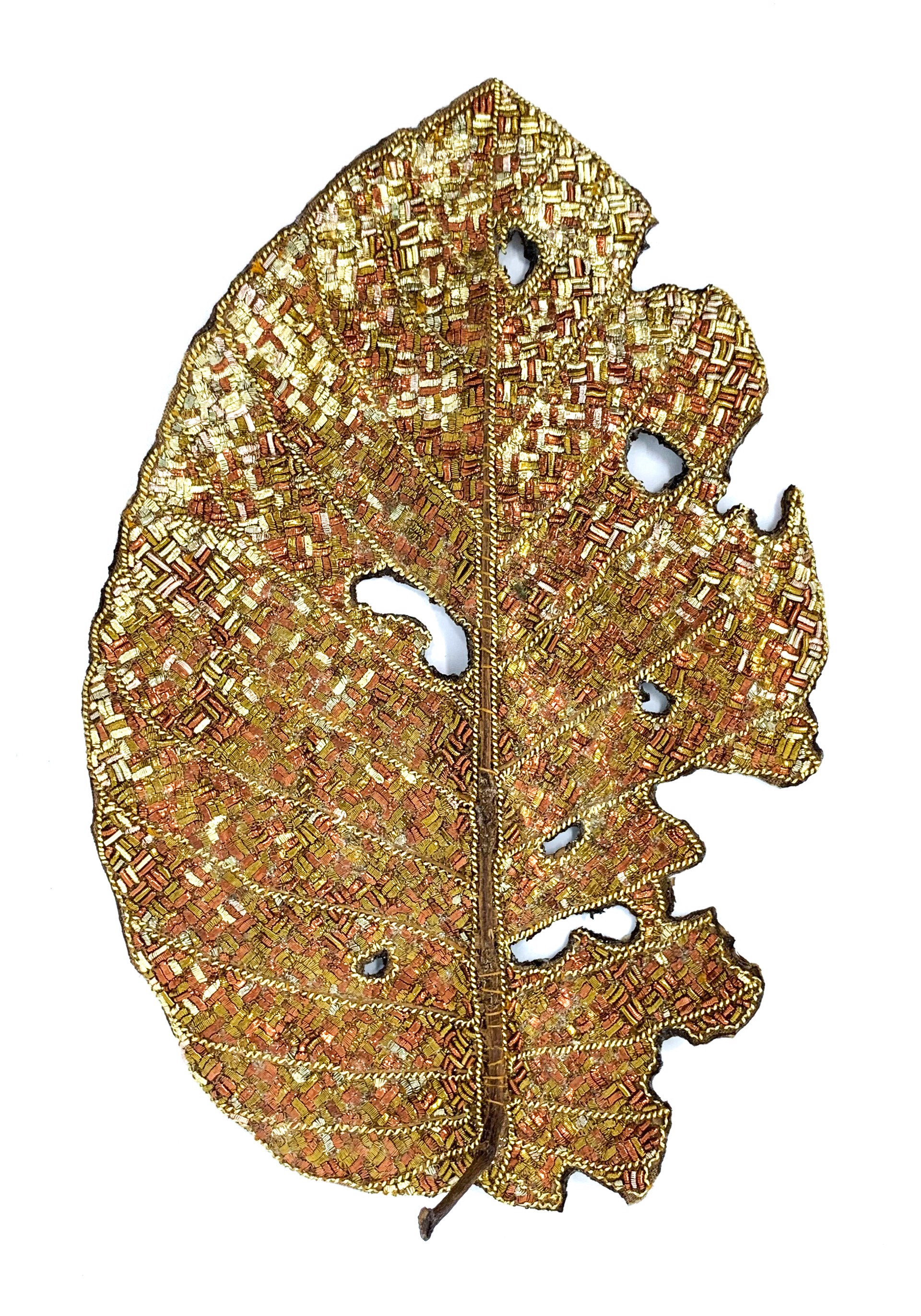 The Impermanence of Life: Rosewood Leaf I by Tiao Nithakhong Somsanith