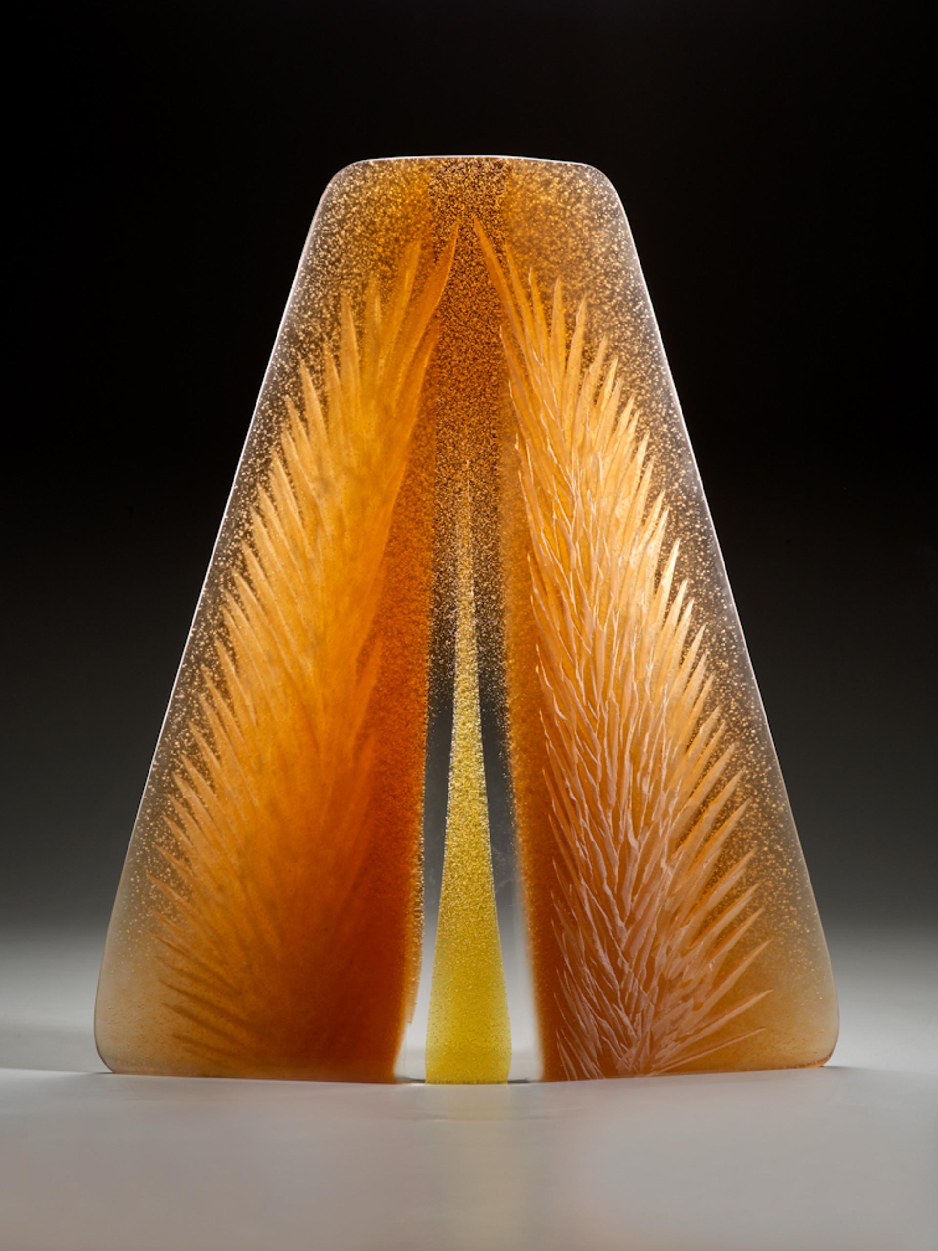 Large Amber Spring by Alex Gabriel Bernstein (b. 1972)