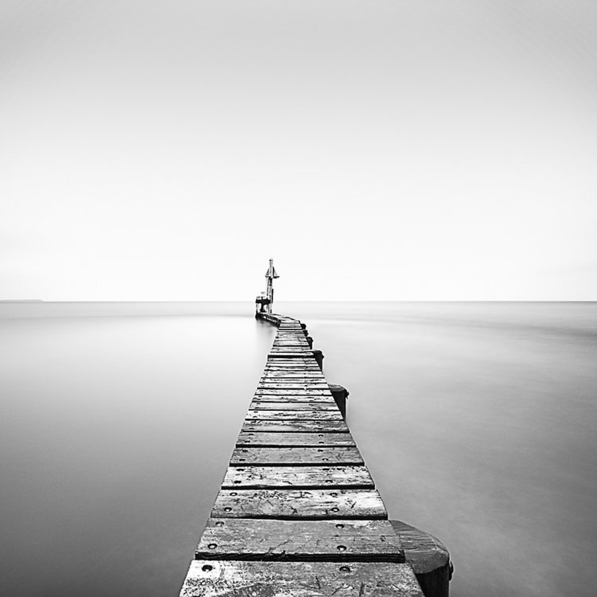 Narrow Pier by Keith Ramsdell