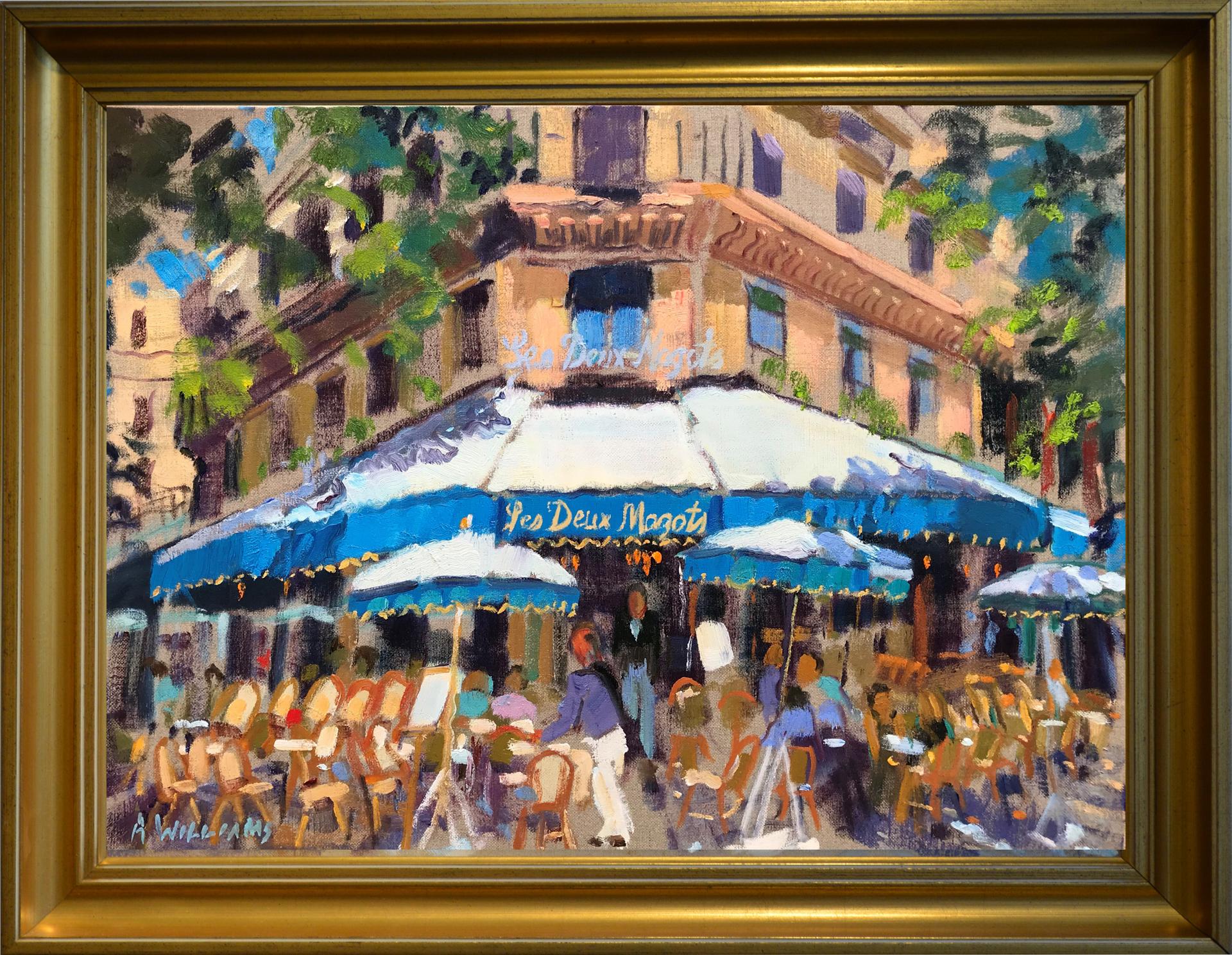 Dejeuner Les Deux Magots by Alice Williams