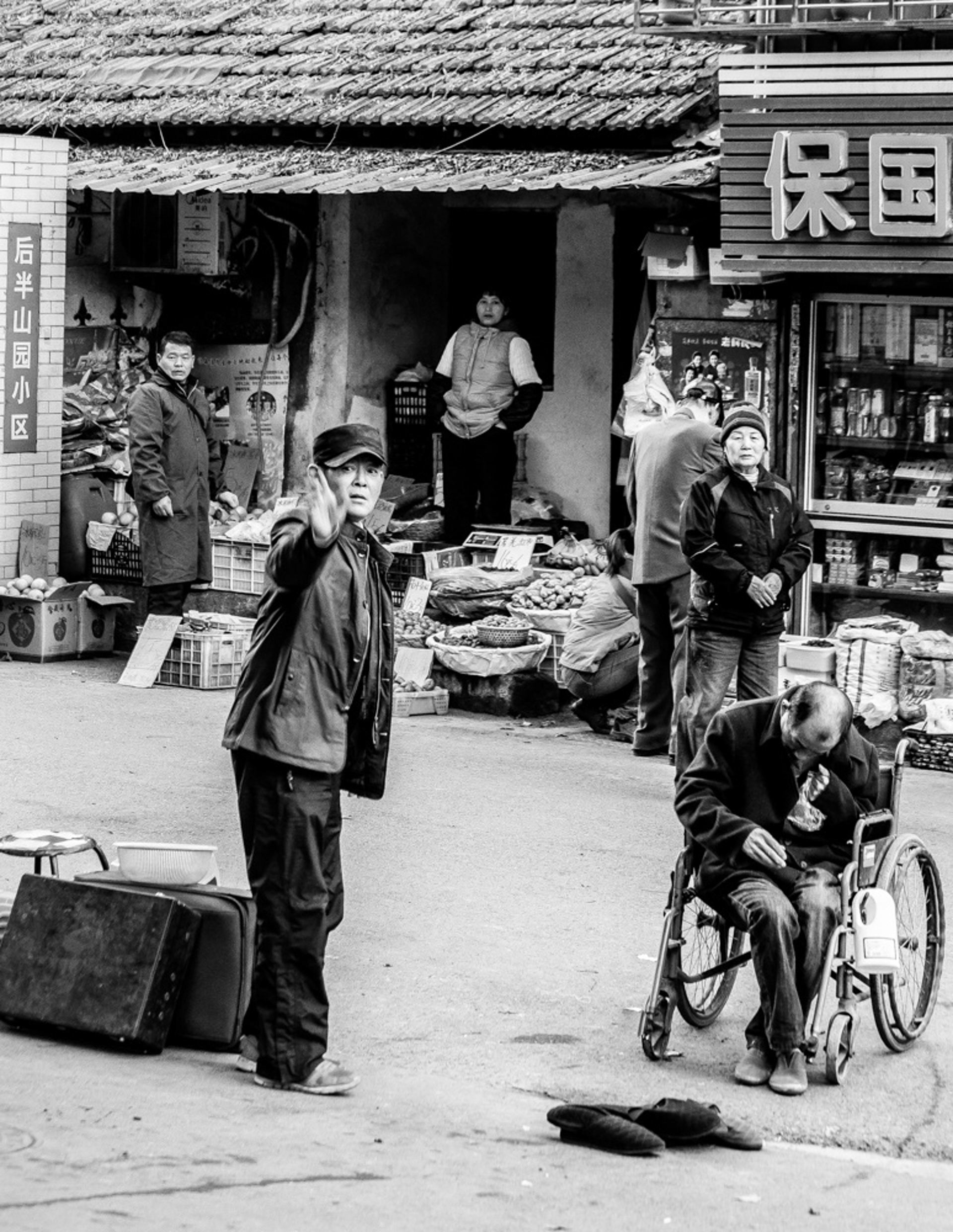 nanjing market by Alex Nyerges