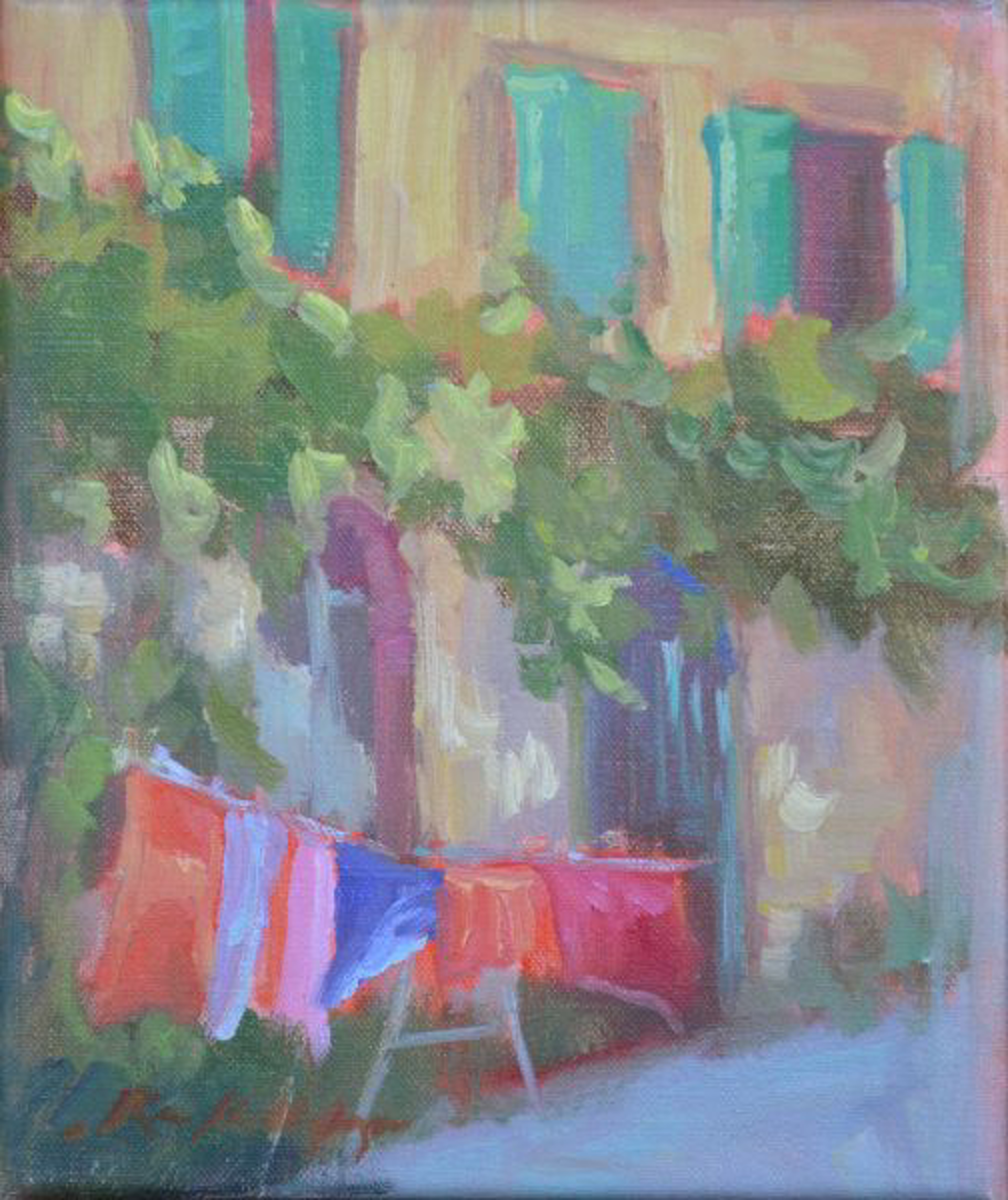 Italian Laundry by Karen Hewitt Hagan