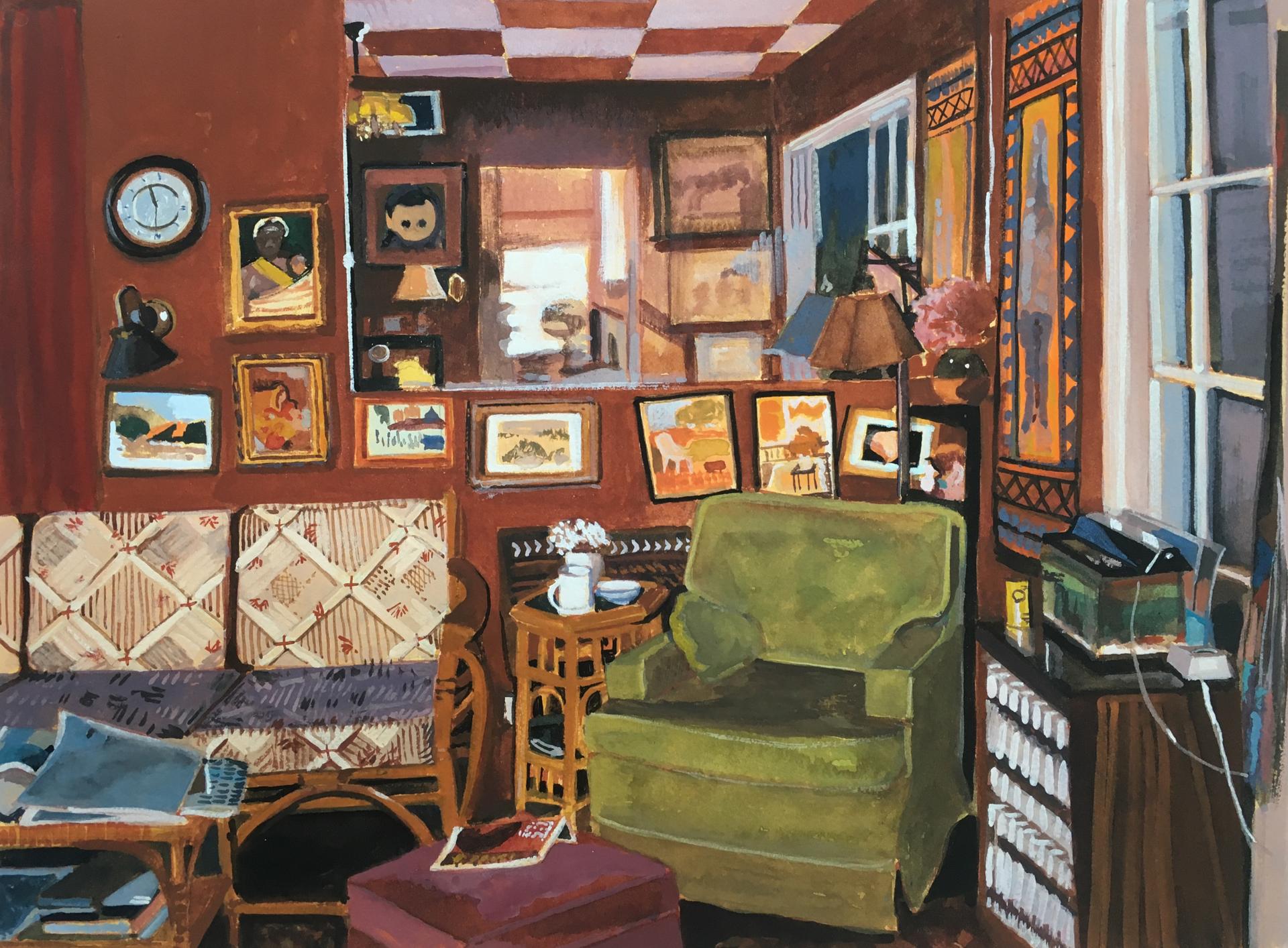 Larkwood Den by Janet Eager Krueger