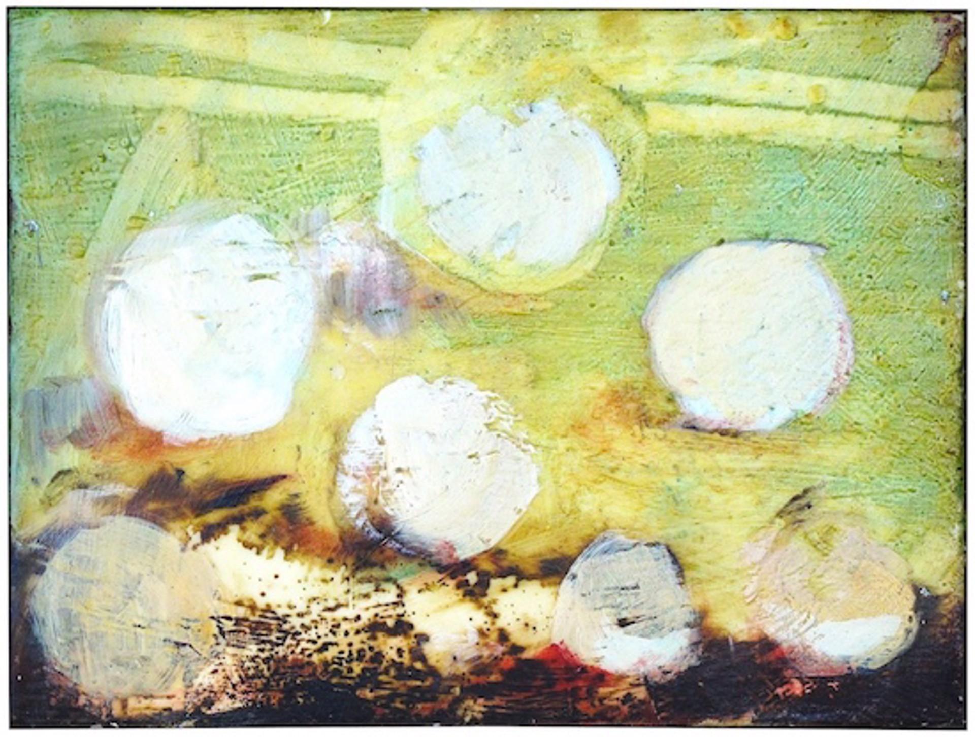 Haystacks by Macuria Montolanez