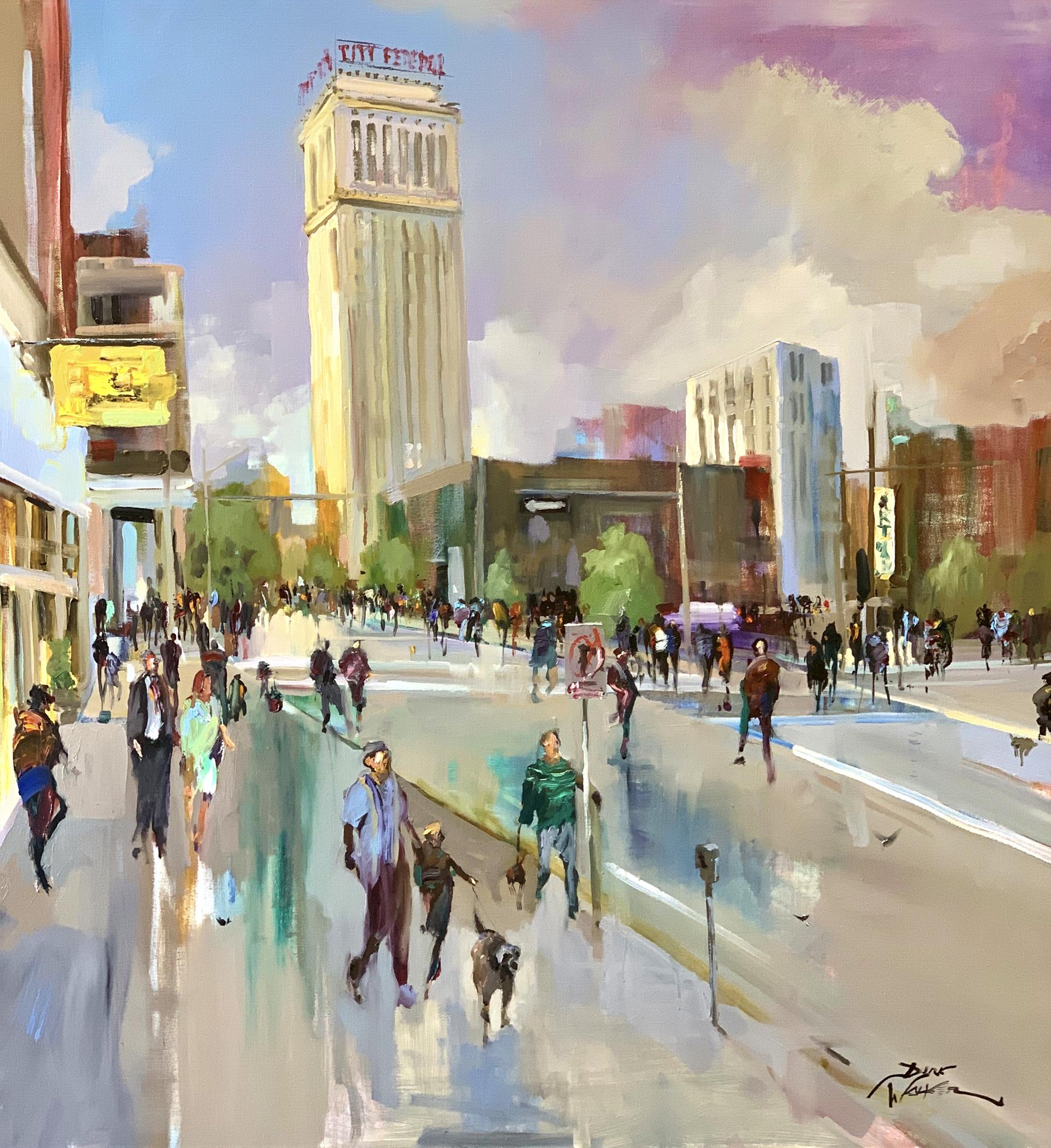 Birmingham Art Walk by Dirk Walker
