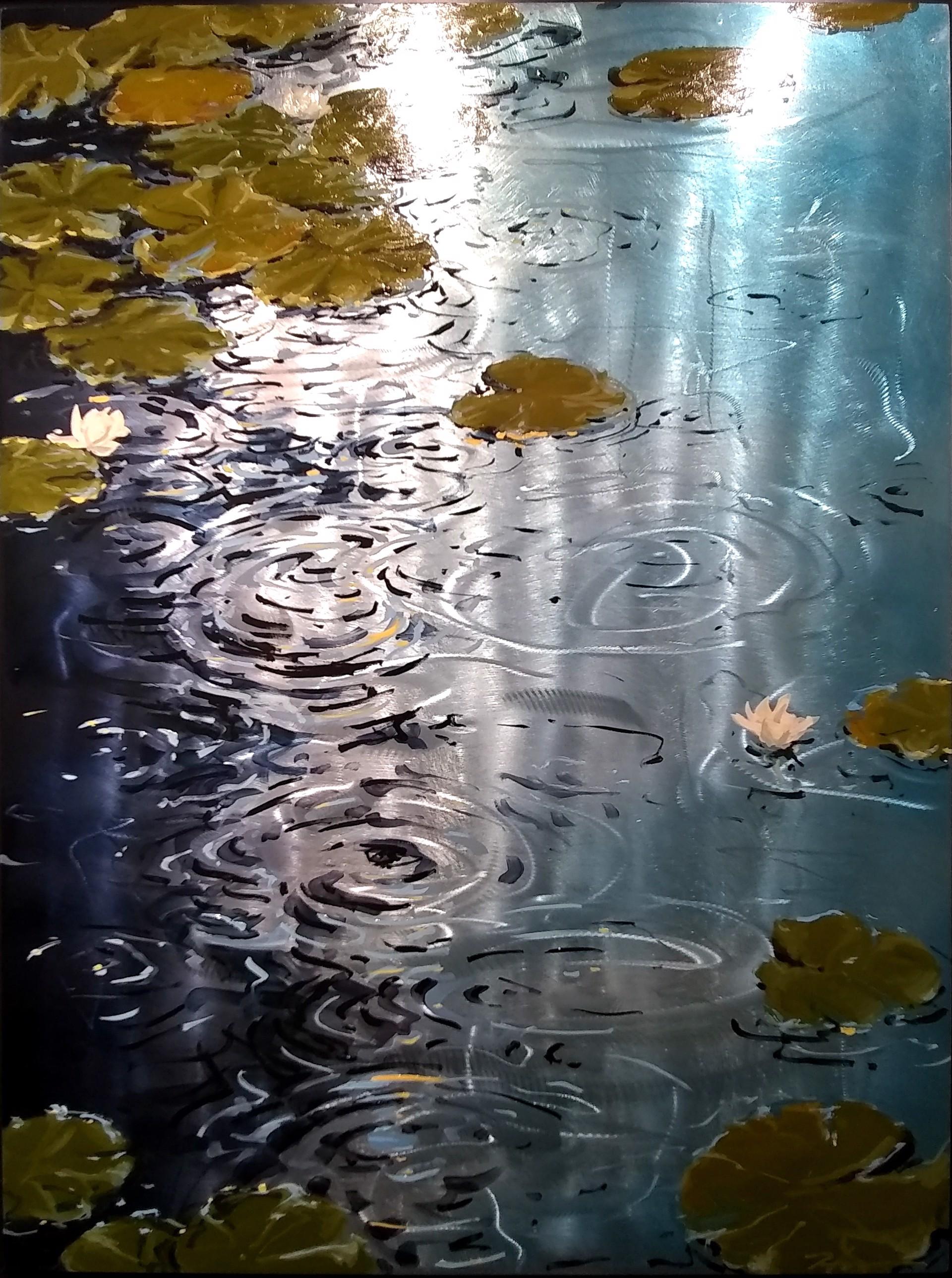 Dodging Raindrops by Scott Harris