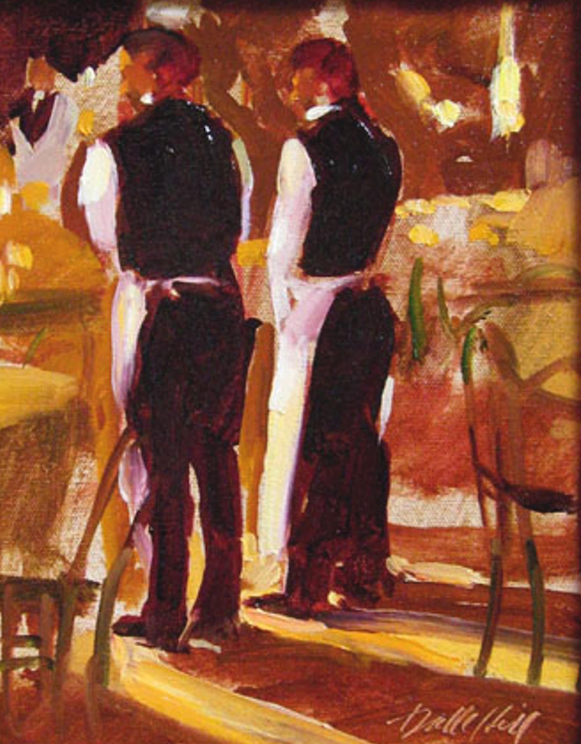 The Waiters by Darrell Hill