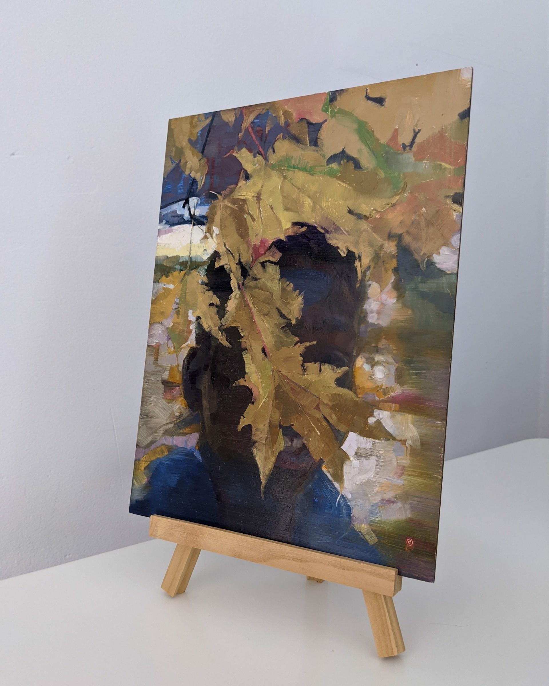 Yellow Leaf by Elena Burykina