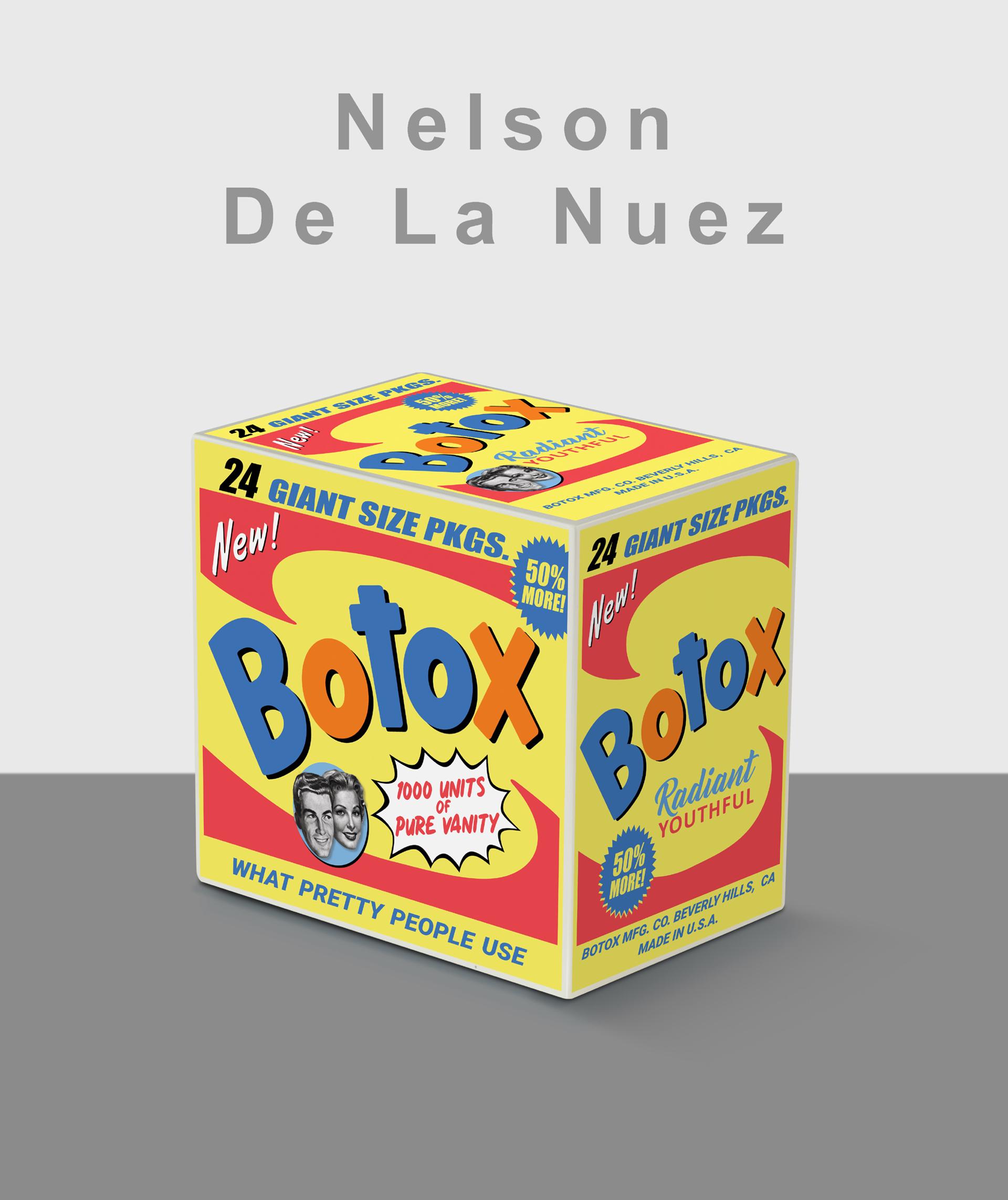 Botox Box- Yellow- (4 colors available)  Edition of 50 by Nelson De La Nuez