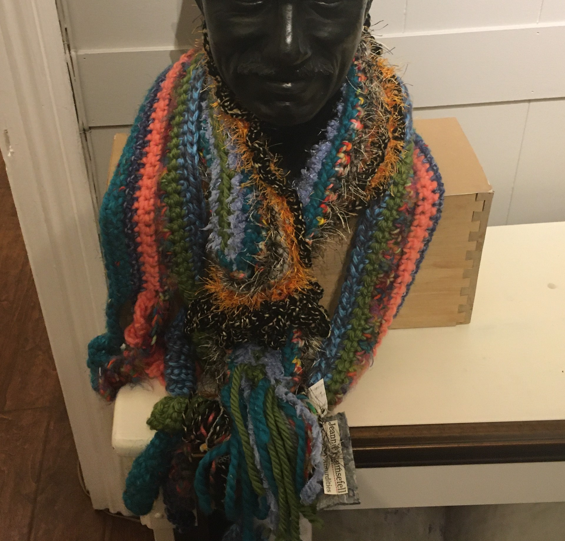 Scarf by Jeannie Rounsefell