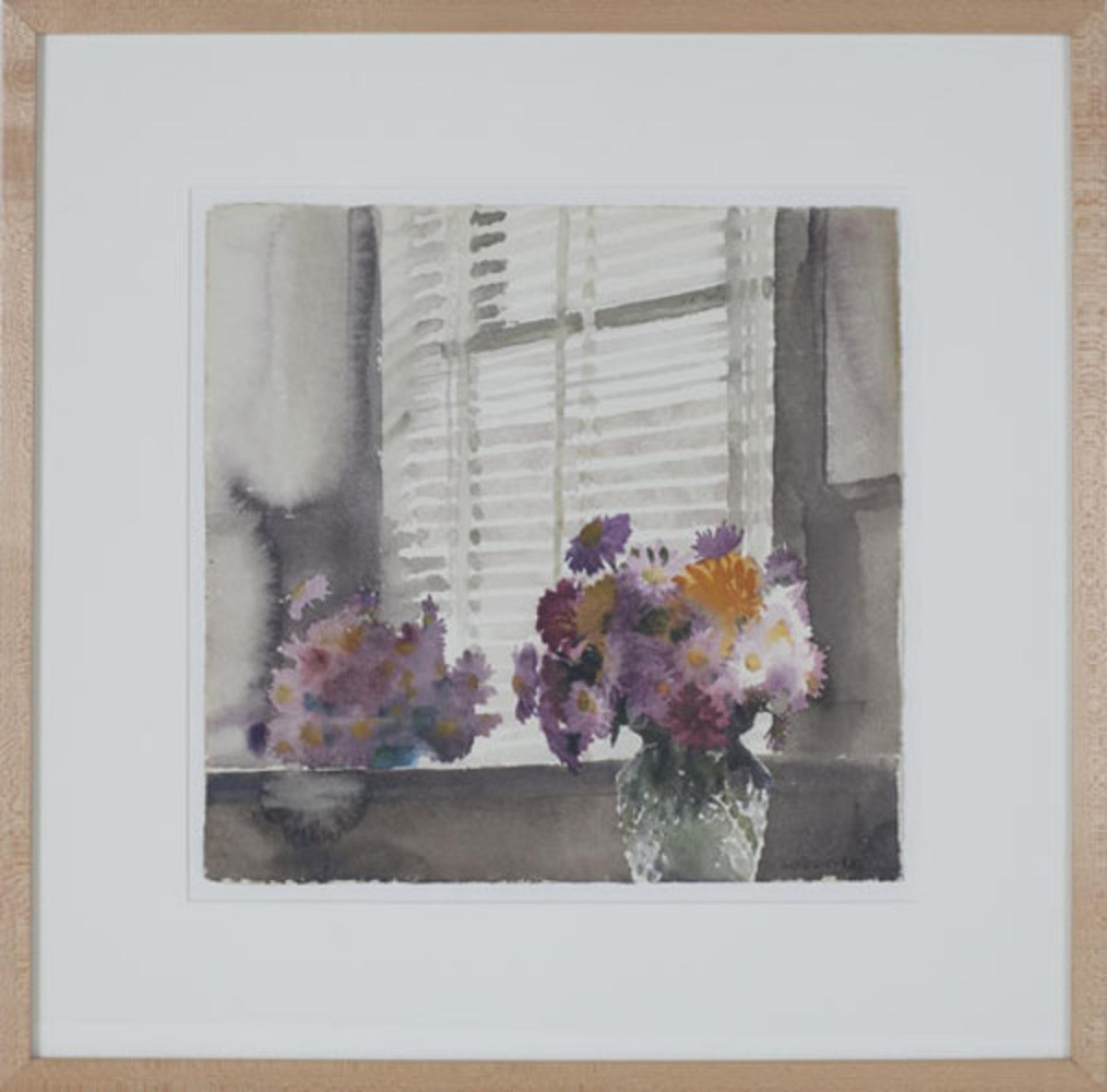 Vase of Chrysanthemums by Alicia Czechowski