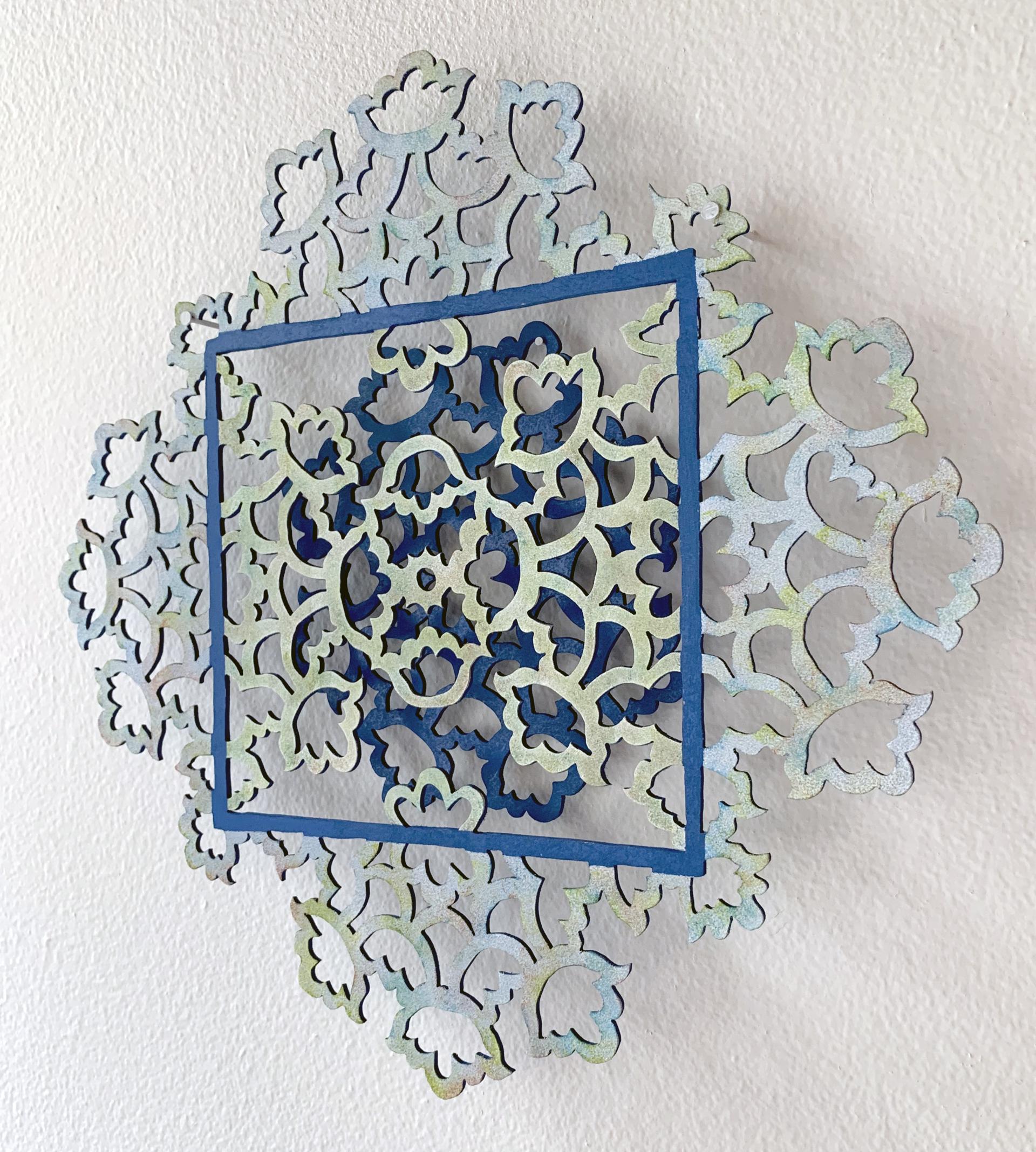 Blue Mandala by June Sekiguchi